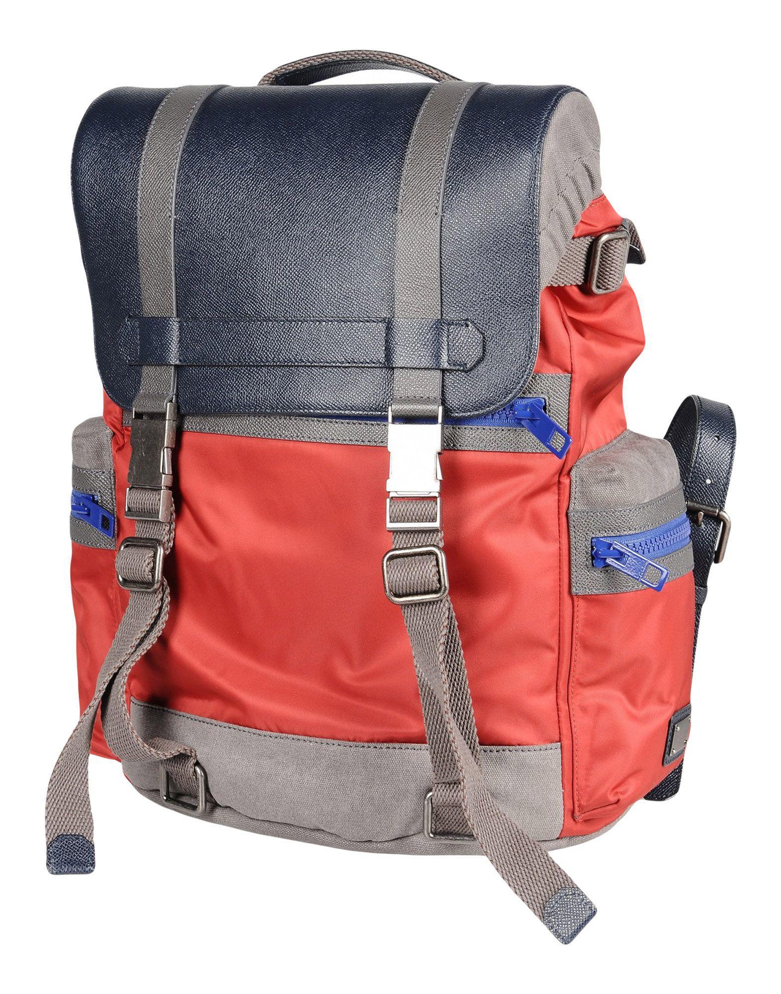 Lyst - Sacs à dos et bananes Dolce   Gabbana pour homme en coloris Rouge 4fffd960b2c