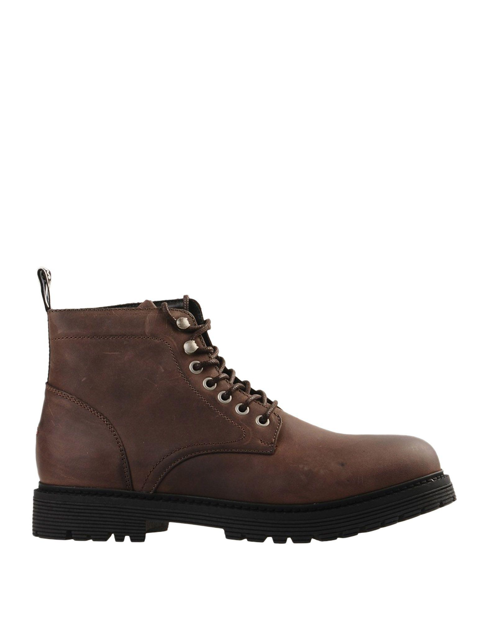 c8b59fb49 Tommy Hilfiger Ankle Boots in Brown for Men - Lyst