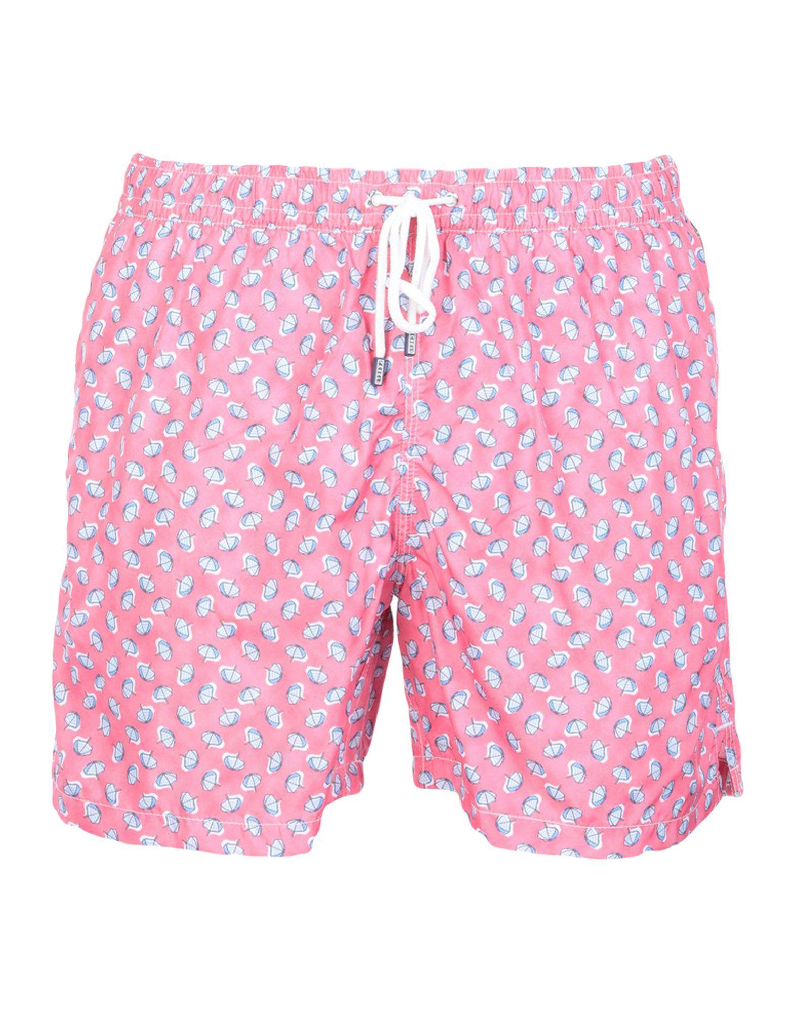 4ea83d5654 Lyst - Fedeli Swimming Trunks in Pink for Men