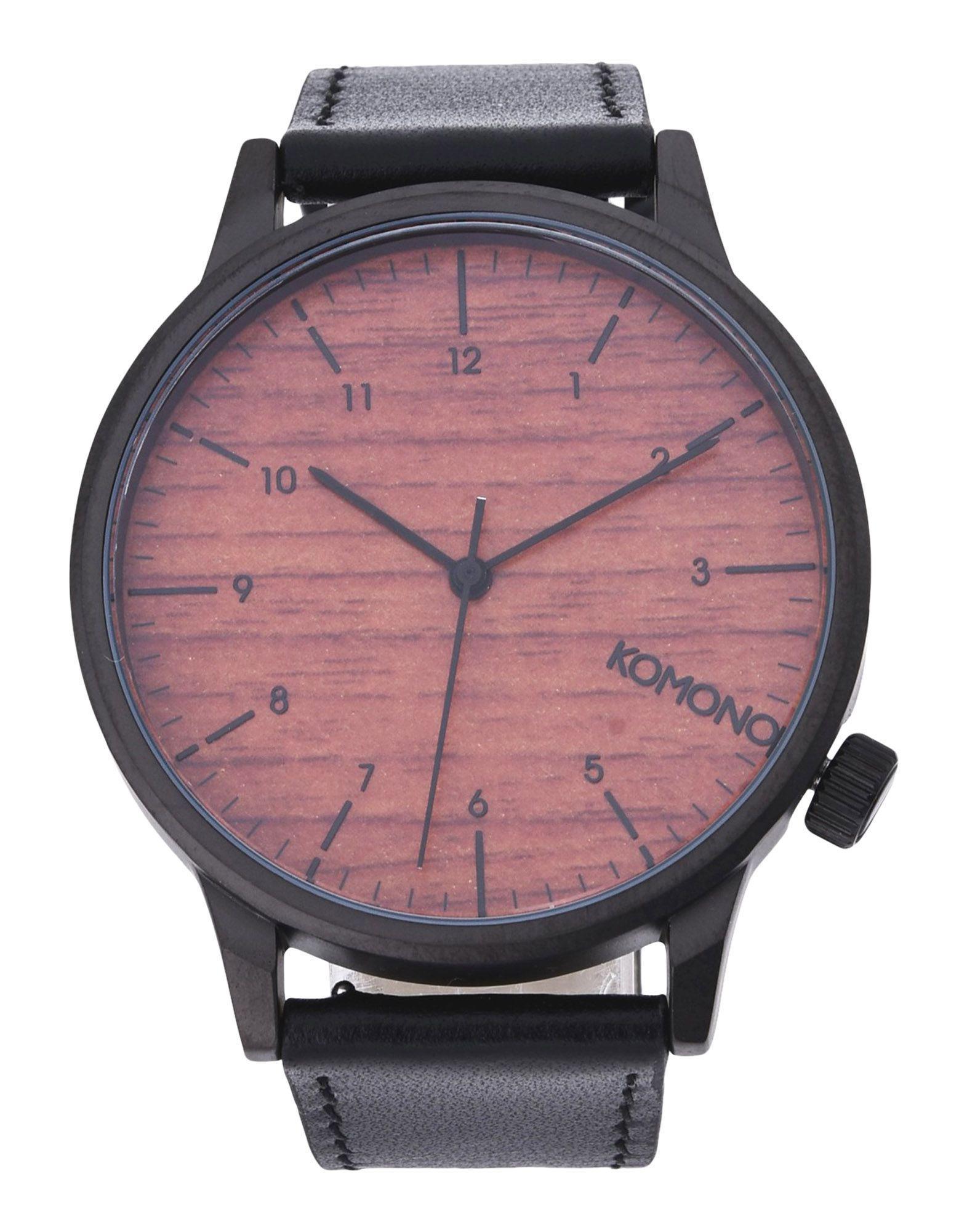 5d8947a54938 Reloj de pulsera Komono de hombre de color Marrón - Lyst