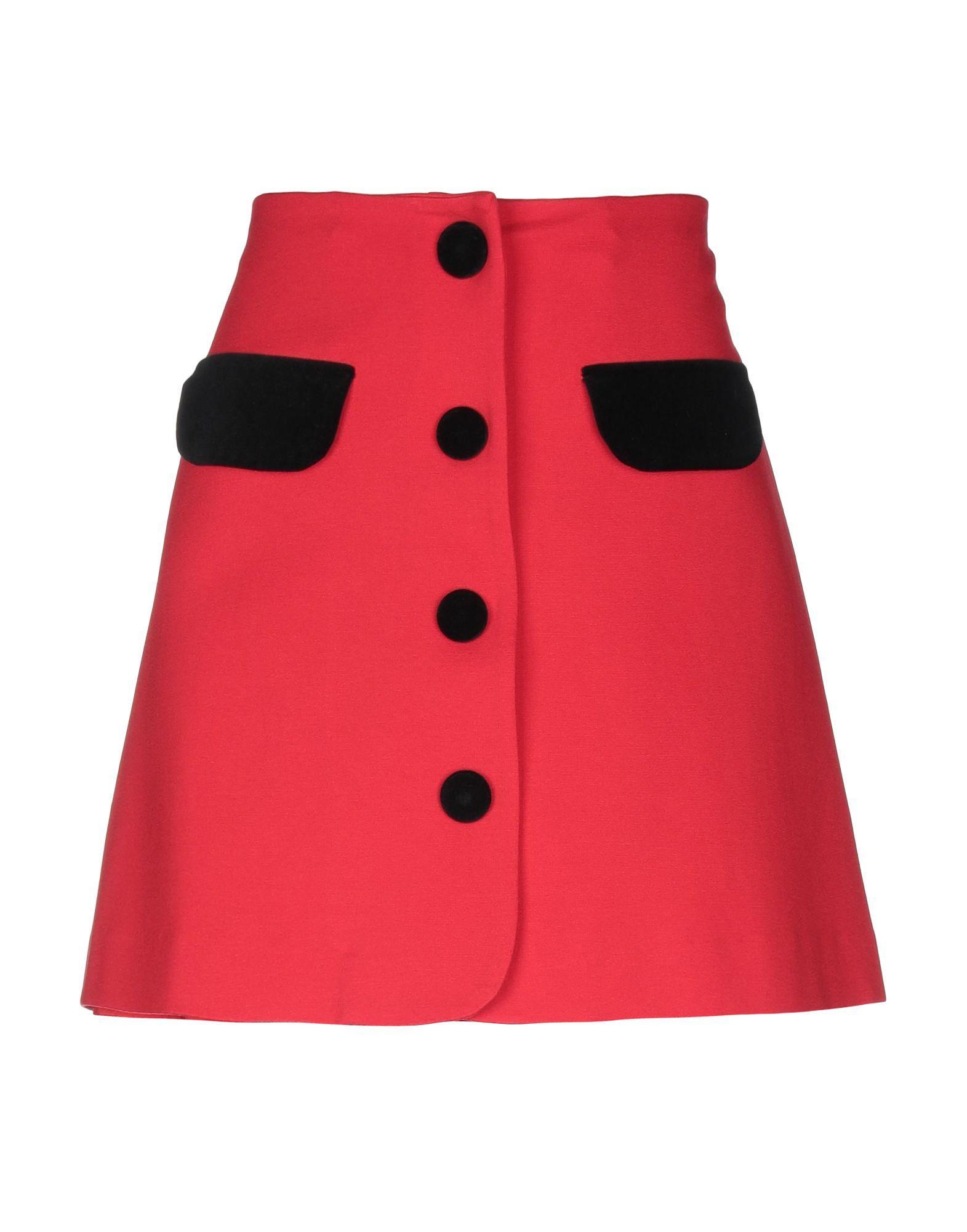 0e786185f1 Lyst - Vivetta Mini Skirt in Red - Save 15%