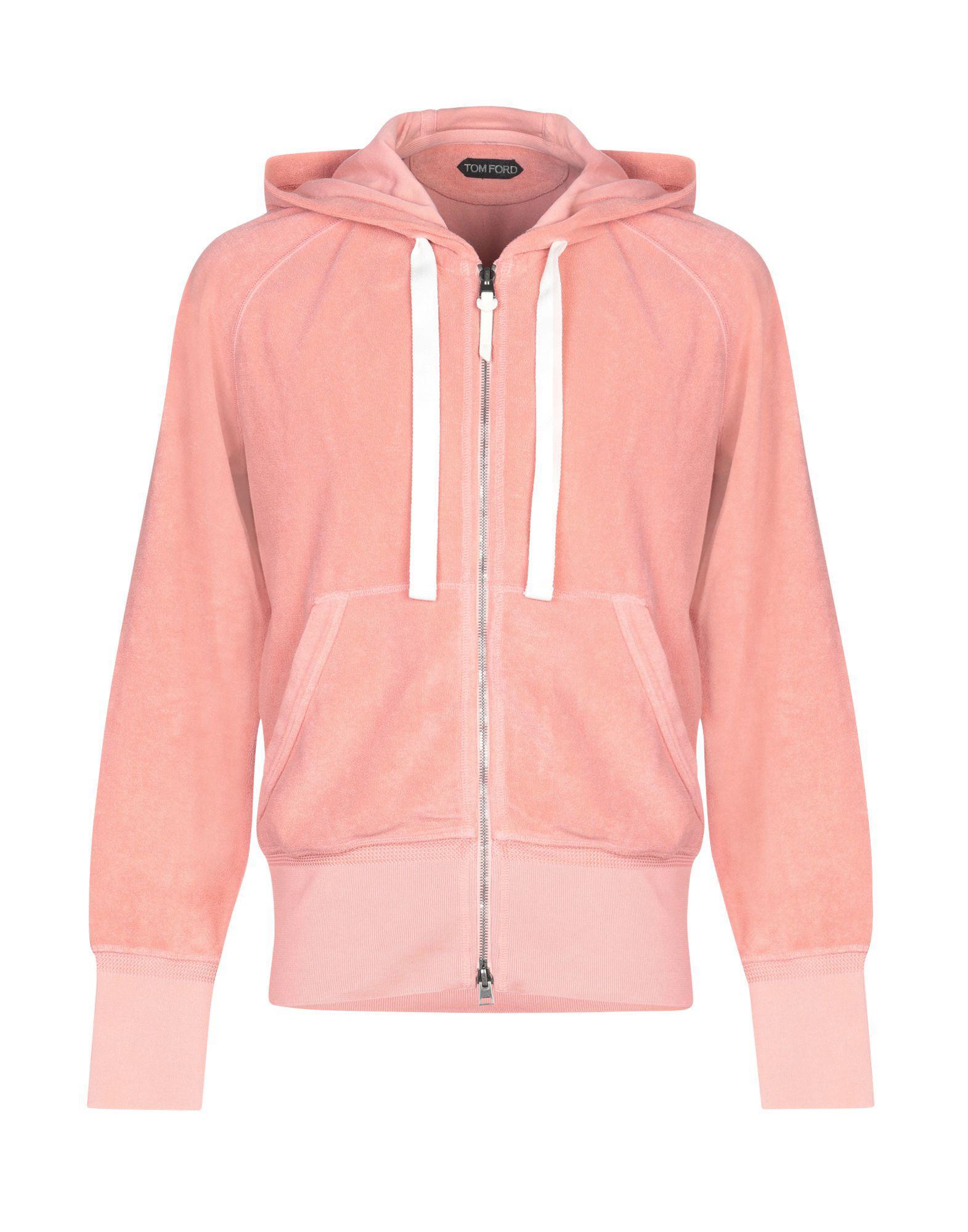 55d90b5a4e5a Lyst - Sweat-shirt Tom Ford pour homme en coloris Rose - 11 % de ...