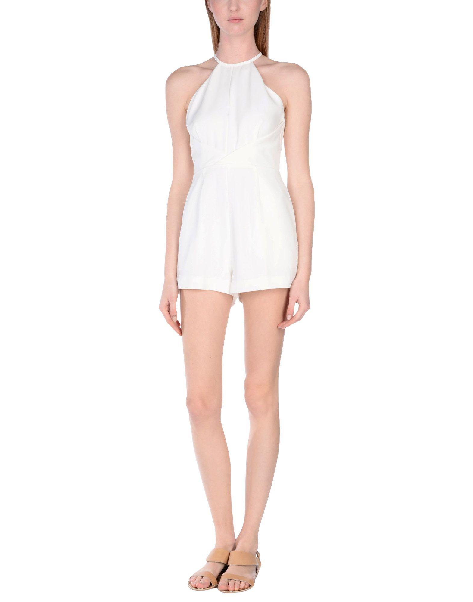ea9e690fd4cf Finders Keepers Jumpsuit in White - Lyst