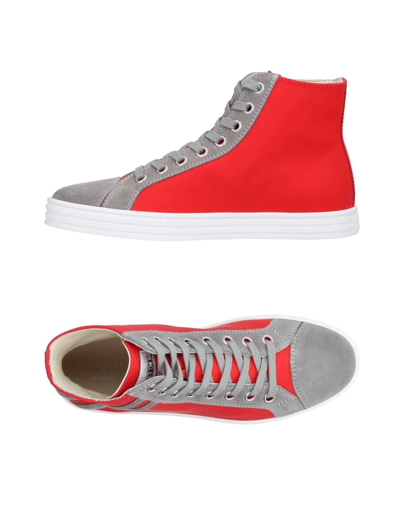 012d6dc918b Lyst - Hogan Rebel High-tops   Sneakers in Red for Men
