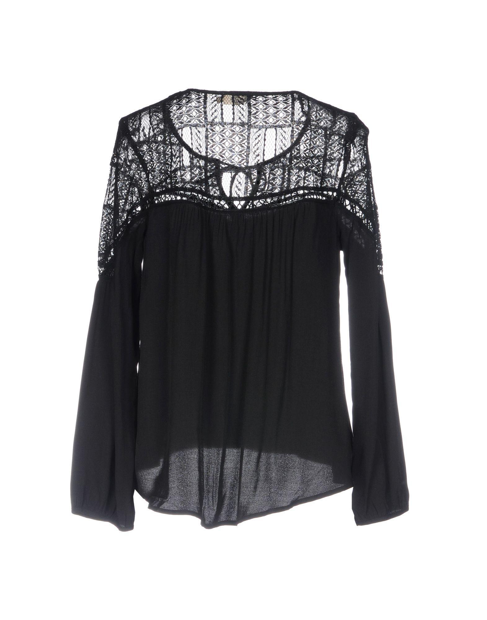 207450ac20fe31 Lyst - Molly Bracken Blouse in Black