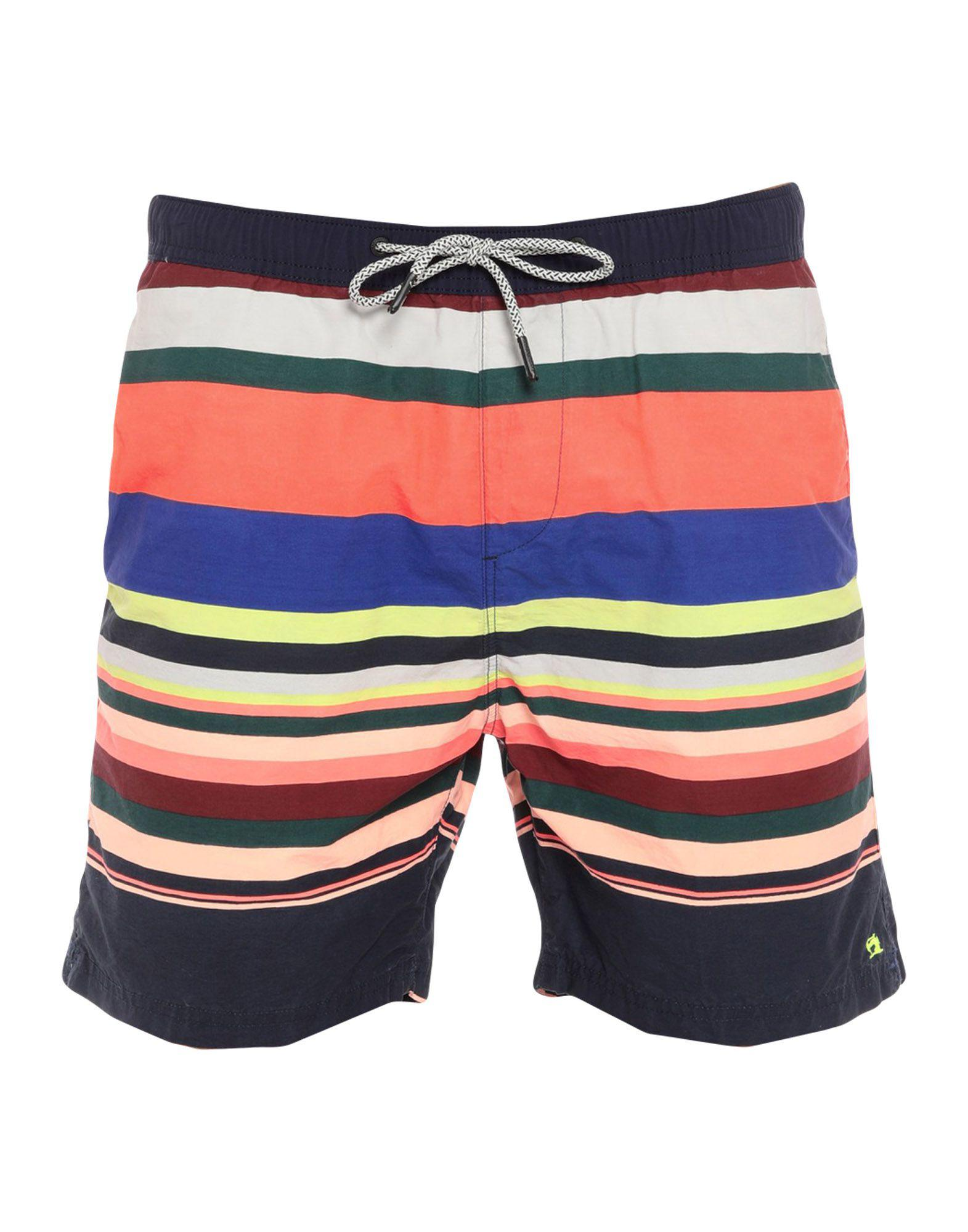 9d342f9ef8937 Scotch & Soda Swimming Trunks in Blue for Men - Lyst
