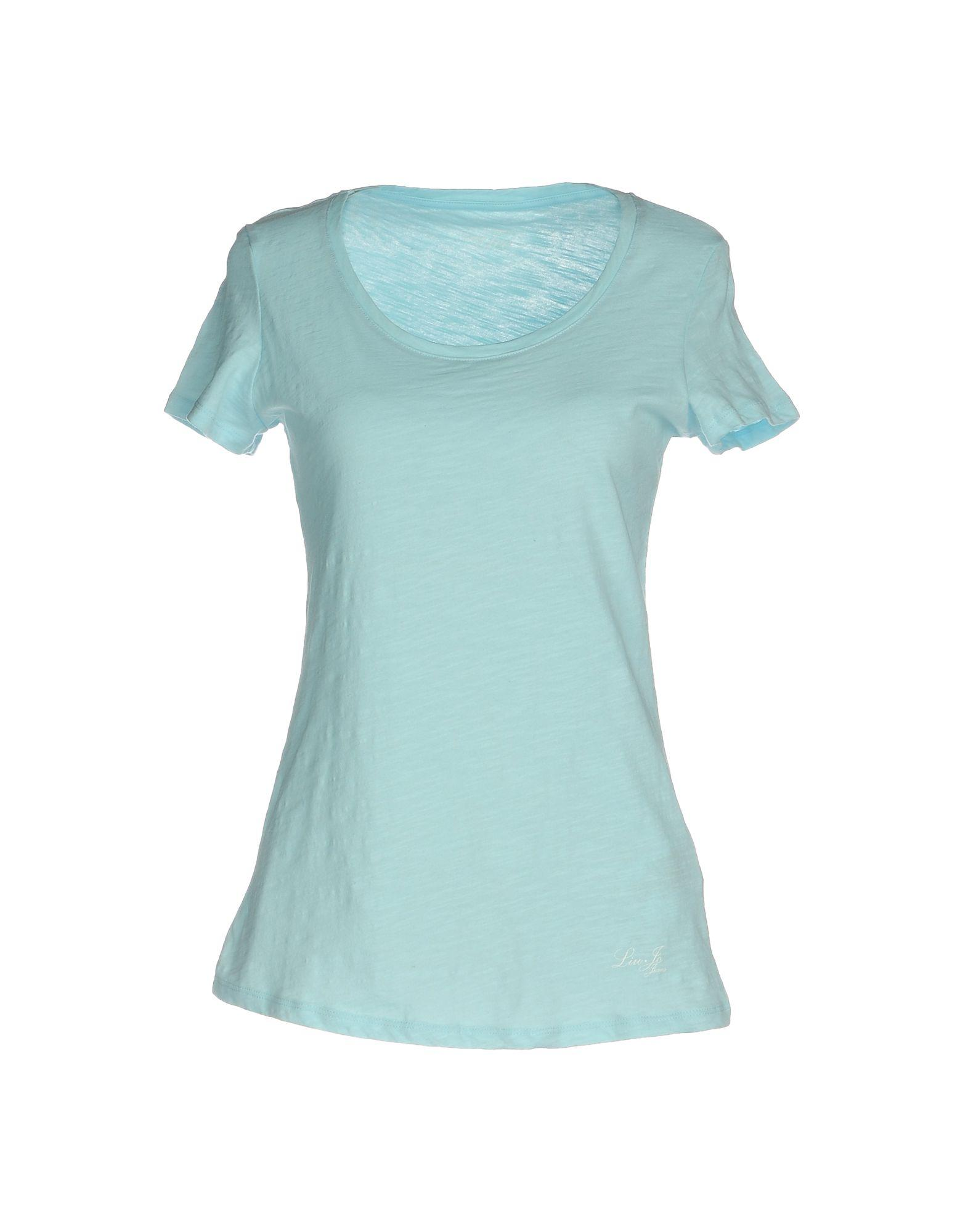 Liu En T Coloris Réduction Jo Lyst 49De Shirt Bleu FKTl13Jc
