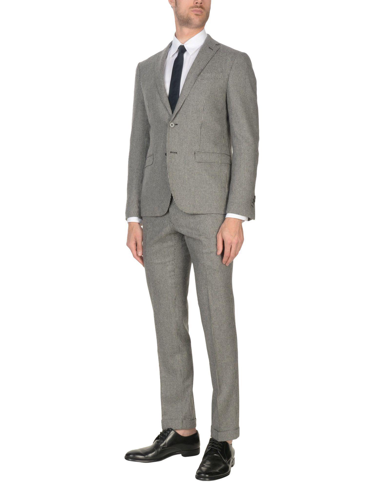 Lyst - Costume Domenico Tagliente pour homme en coloris Gris 872bfc41785