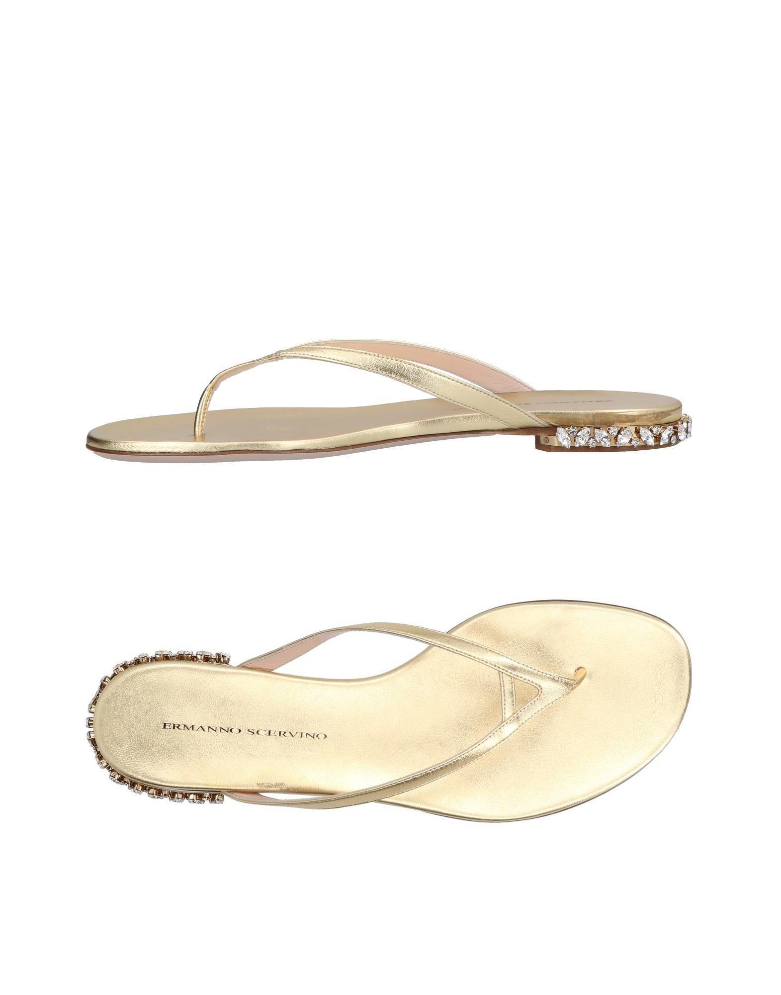 Chaussures - Sandales Entredoigt Ermanno De Scervino yzrJL6S