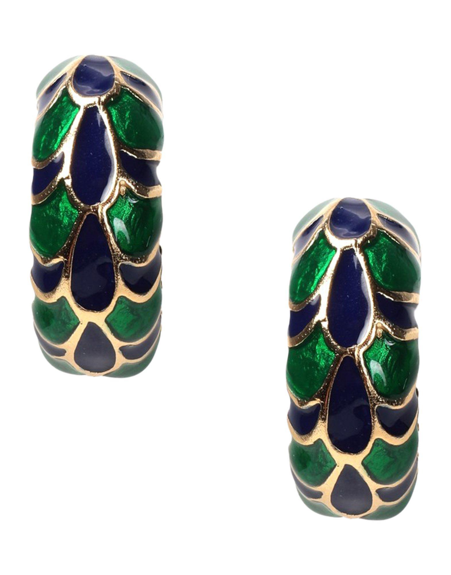 Kenneth Jay Lane Women S Green Earrings