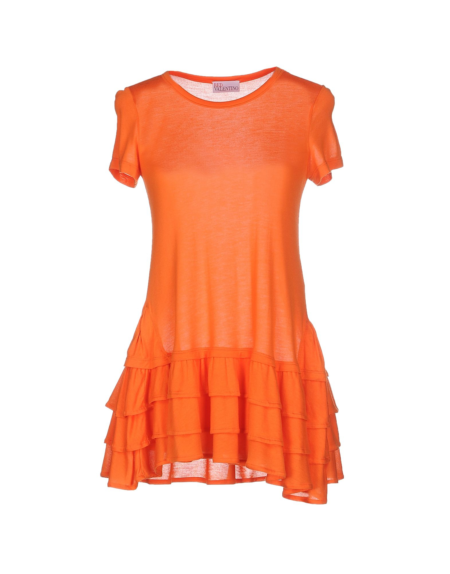 Lyst red valentino t shirt in orange for Red valentino t shirt