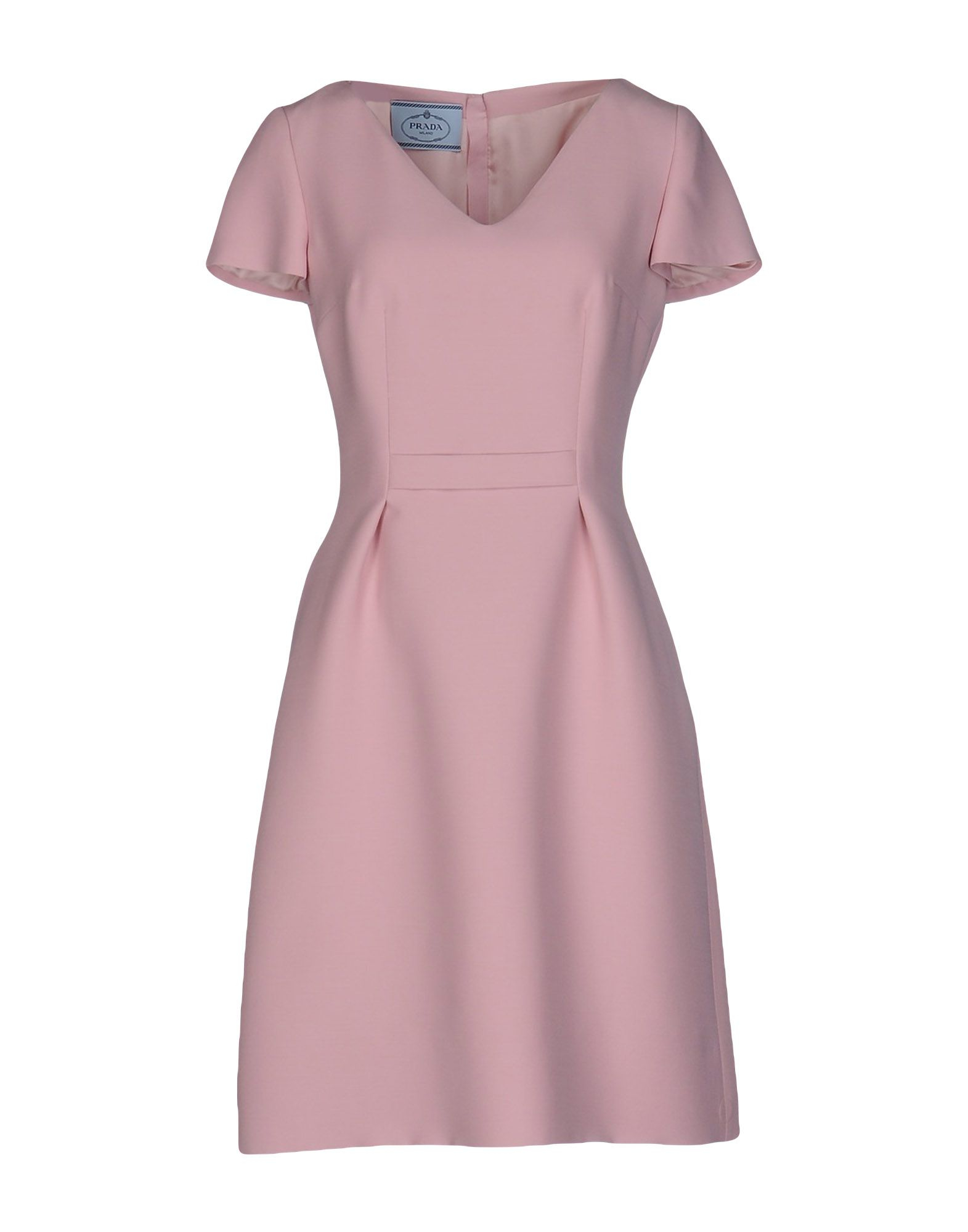 Prada short dress in blue lyst Pink fashion and style pink dress
