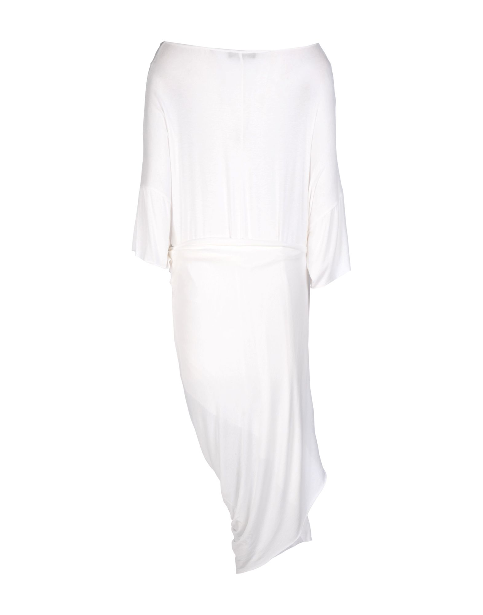Mariagrazia Panizzi 3 4 Length Dress In White Lyst