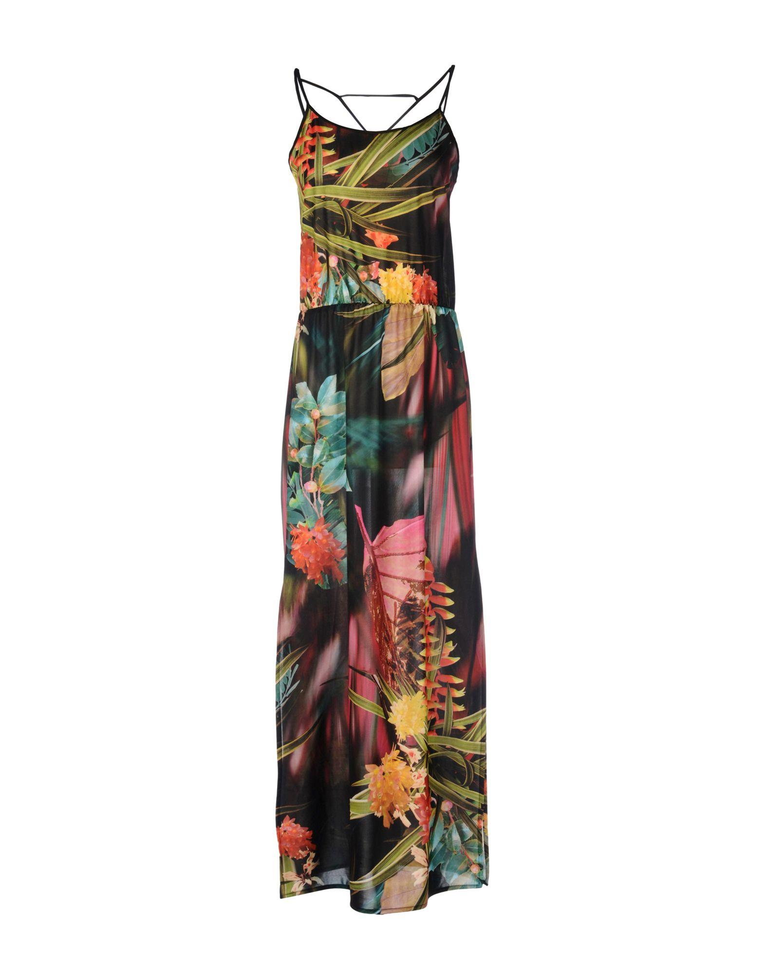 Lyst Shirtaporter Long Dress In Green