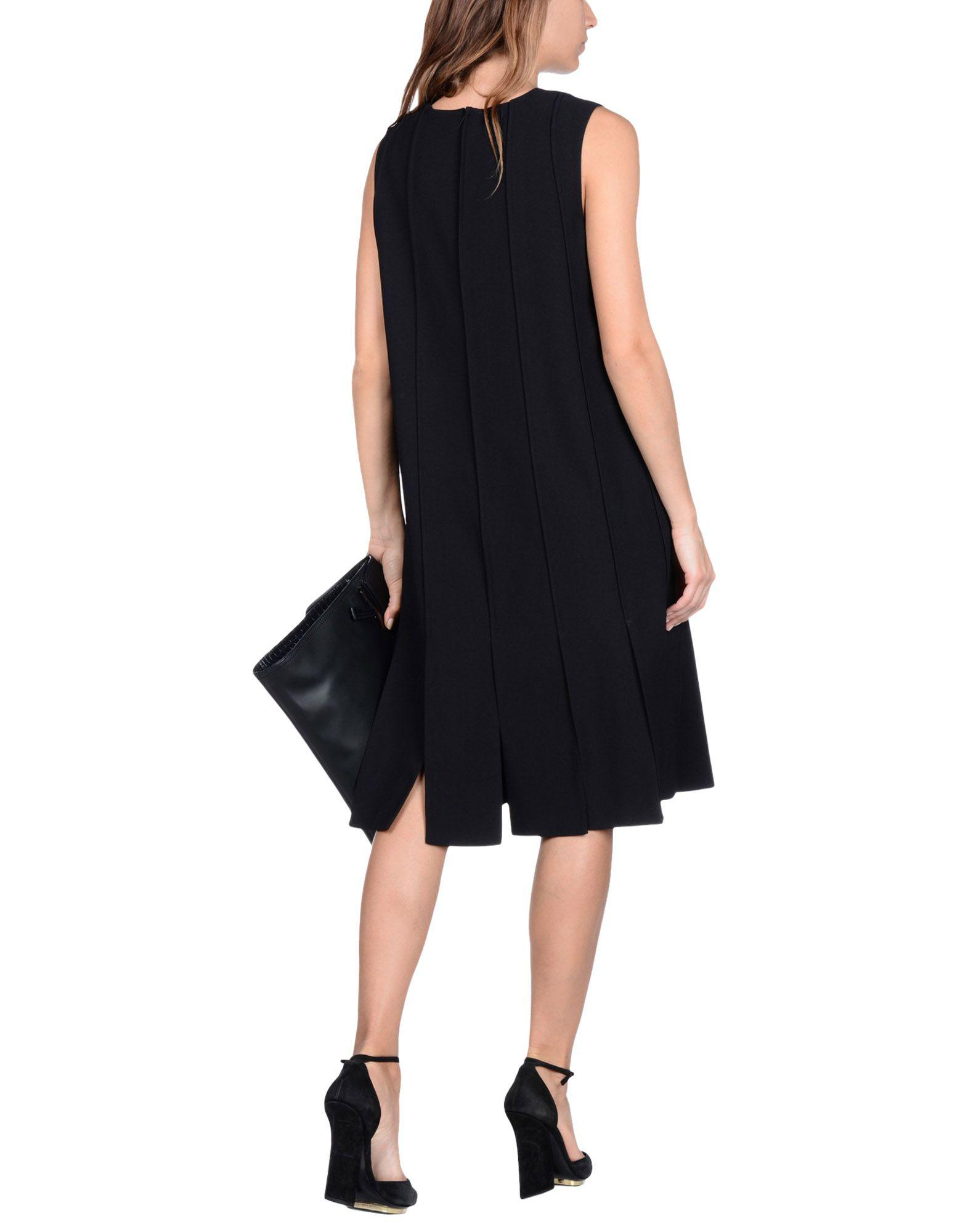 f429c313598 Lyst - Proenza Schouler Knee-length Dress in Black