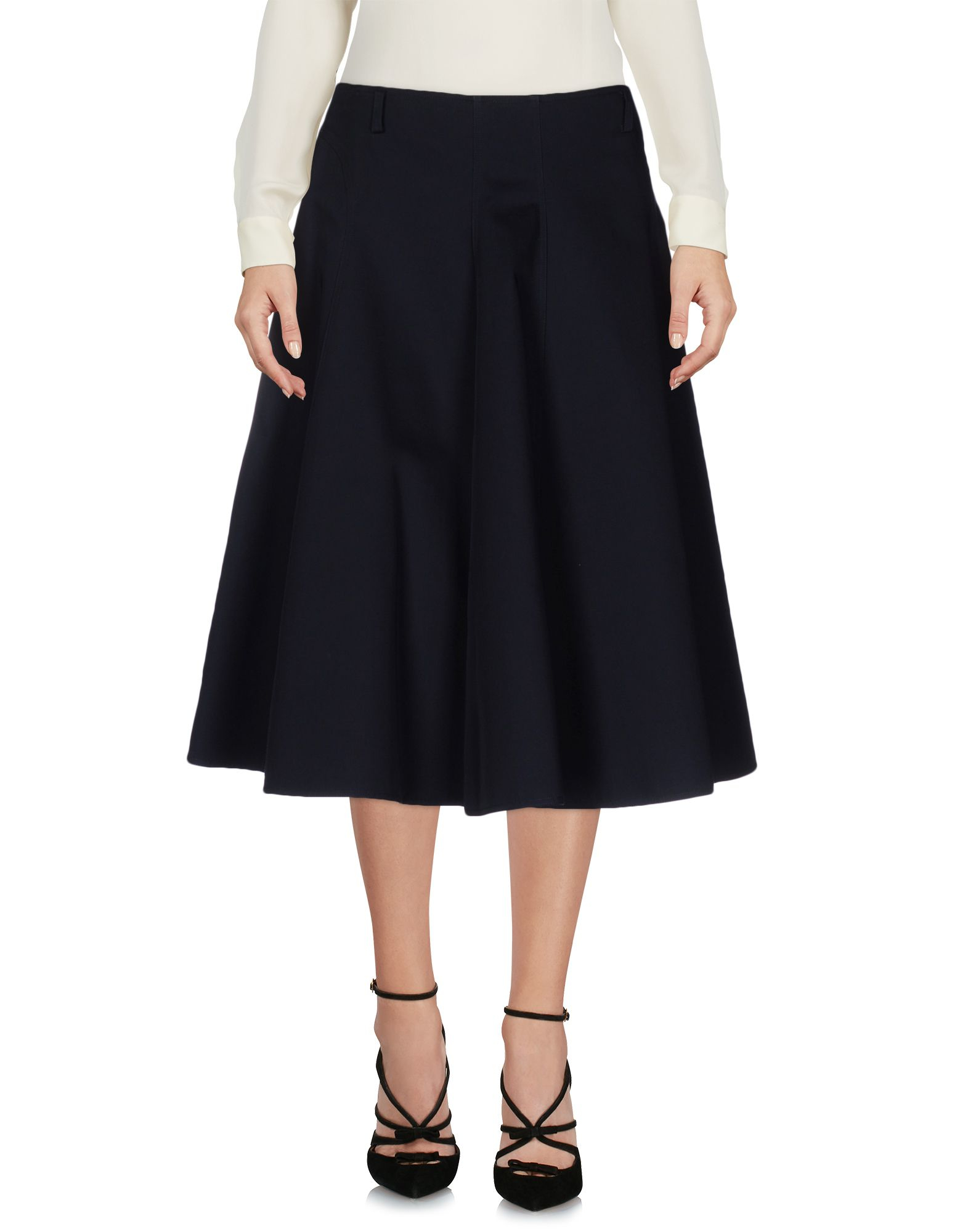 Sofie d 39 hoore 3 4 length skirt in black lyst for 20 34 35 dress shirts