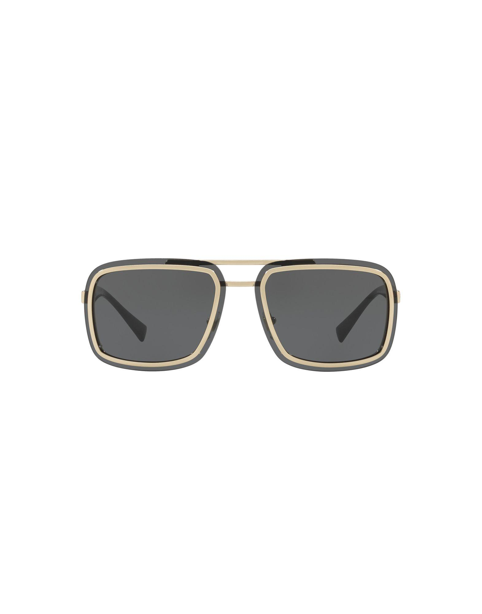 Lyst - Lunettes de soleil Versace pour homme d76344ea9ae6