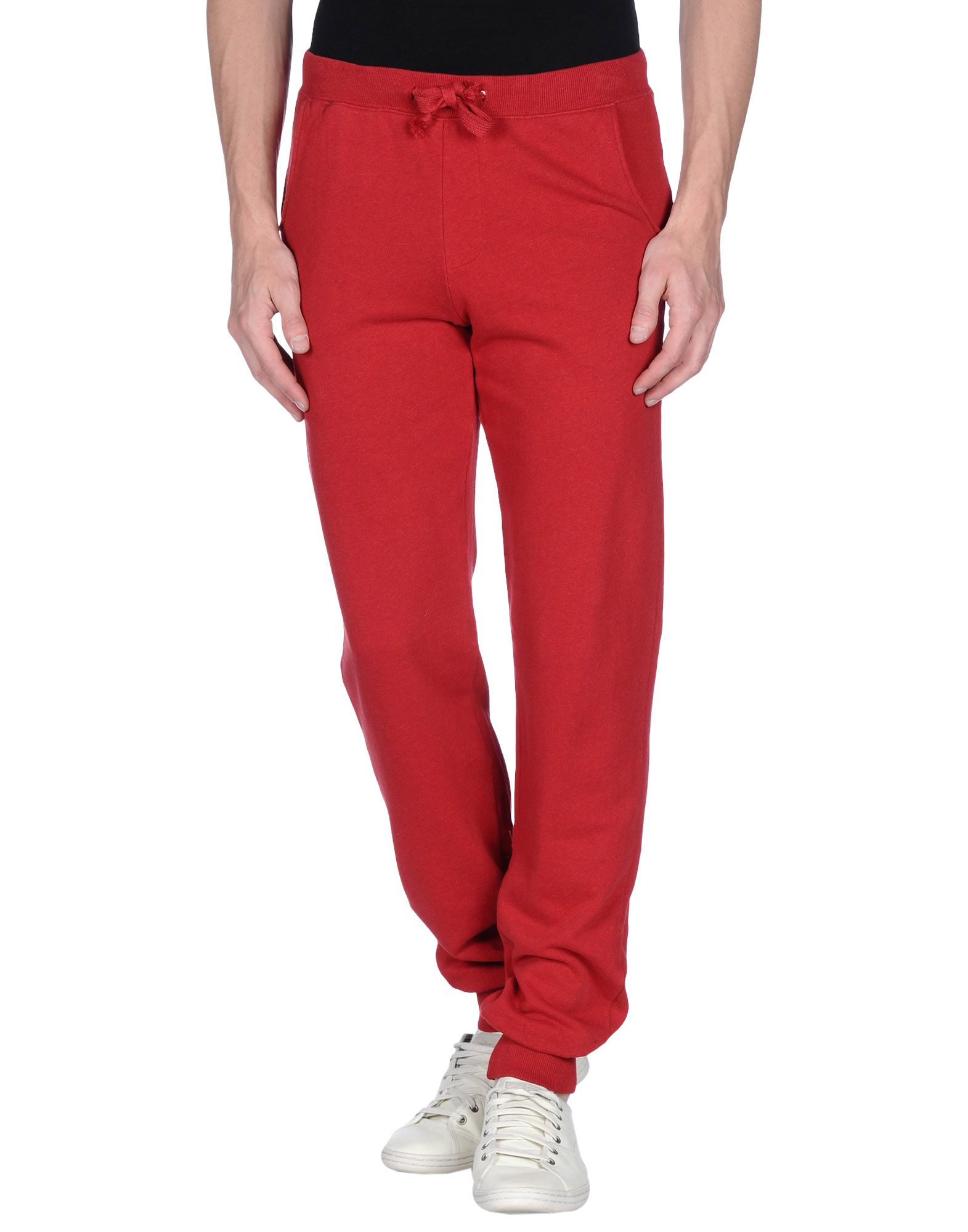 Lyst Sun 68 Casual Pants In Red For Men