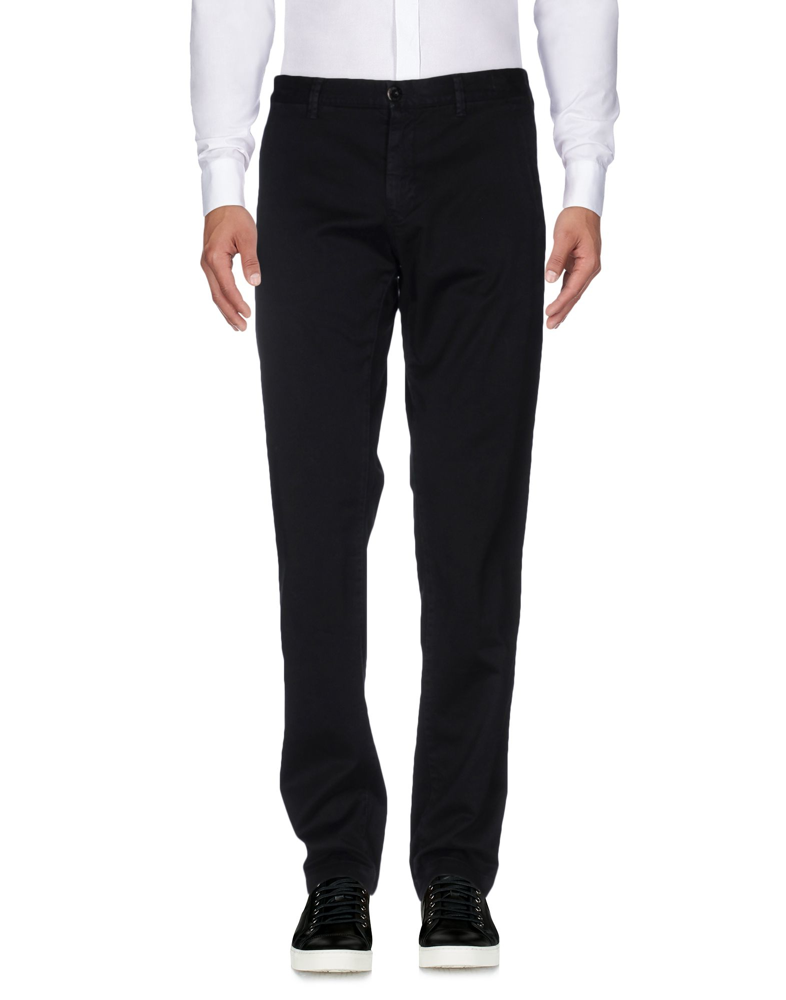 Stone island Casual Pants in Black for Men - Lyst