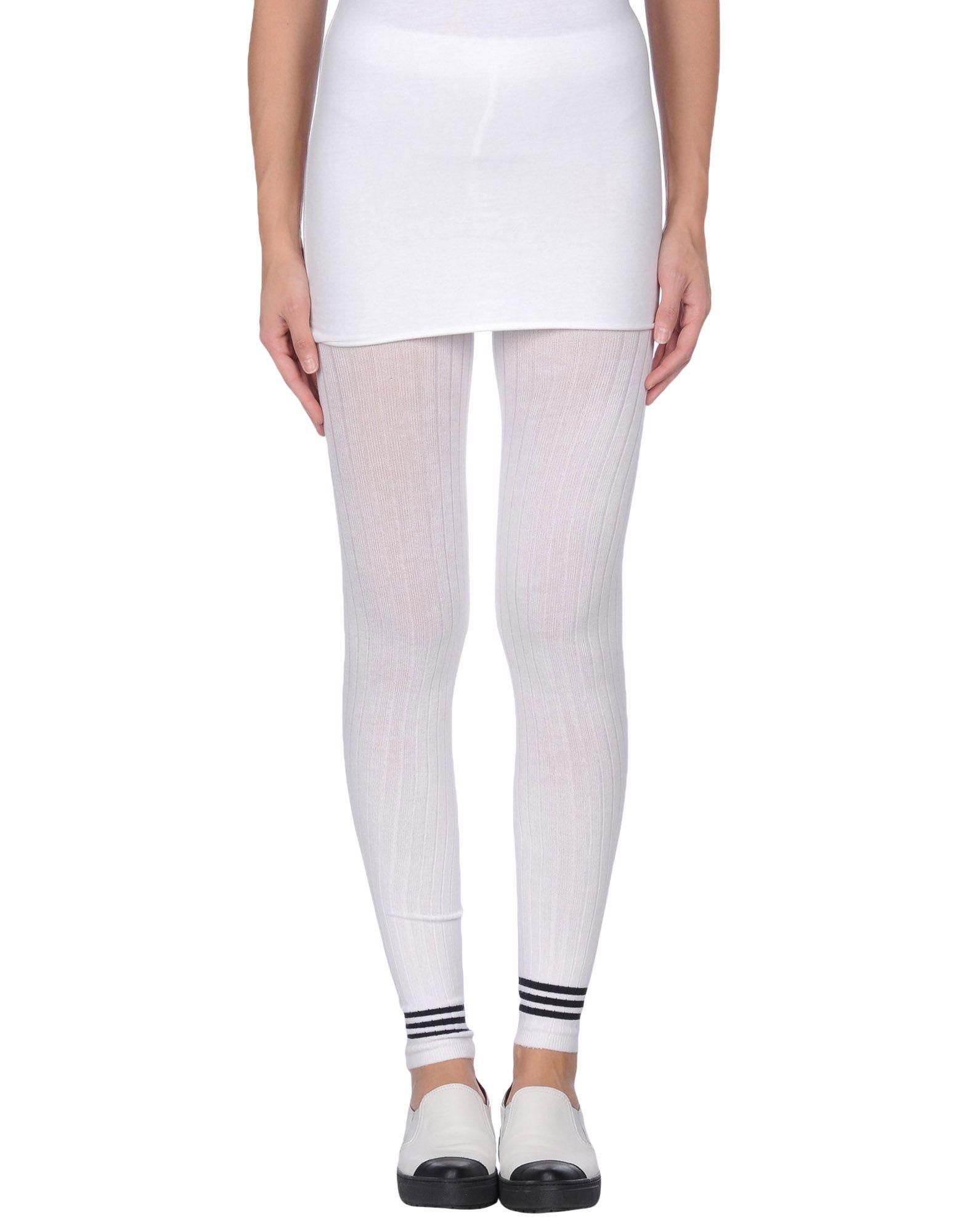 adidas originals leggings in white lyst. Black Bedroom Furniture Sets. Home Design Ideas
