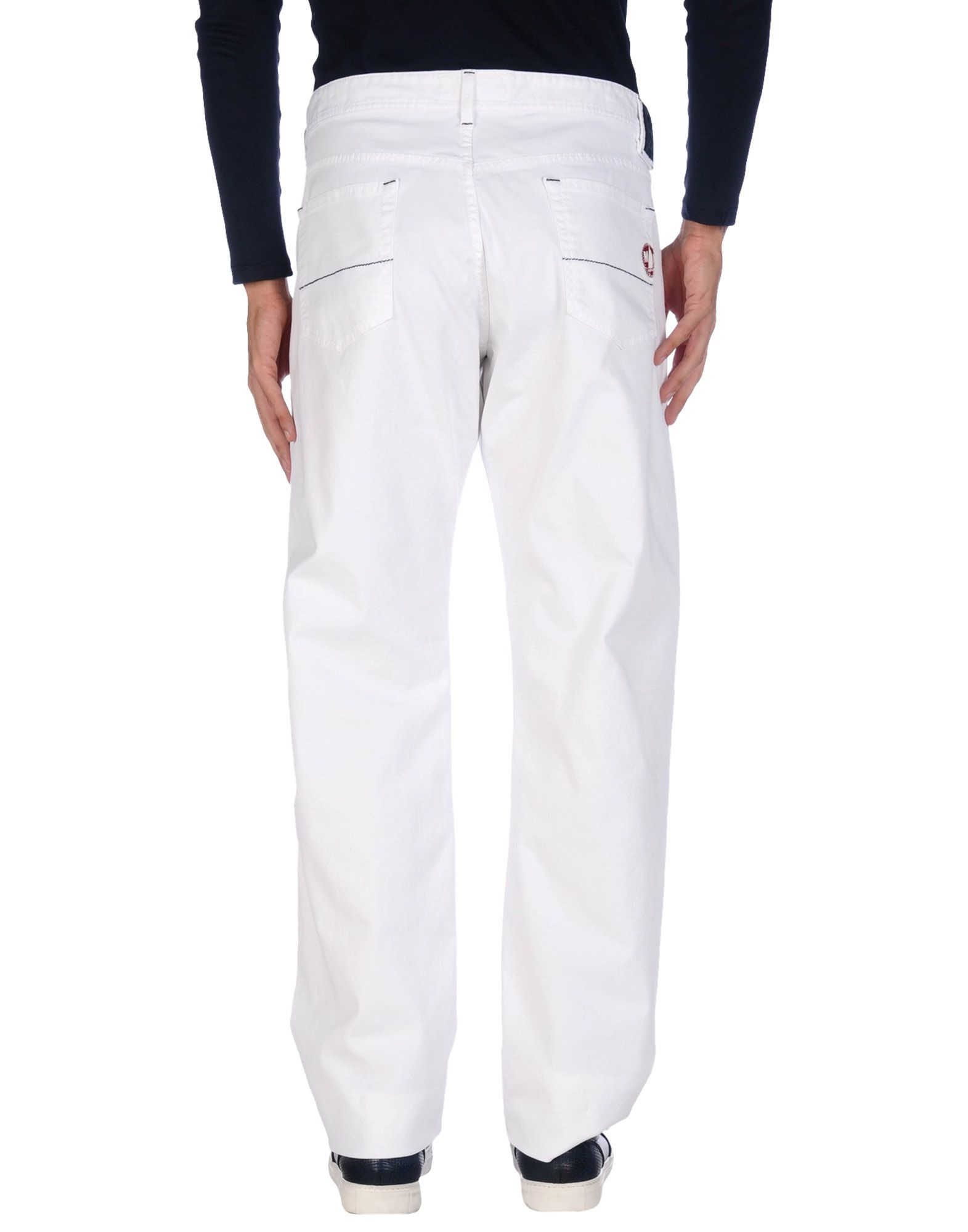 murphy nye casual pants in white for men lyst. Black Bedroom Furniture Sets. Home Design Ideas