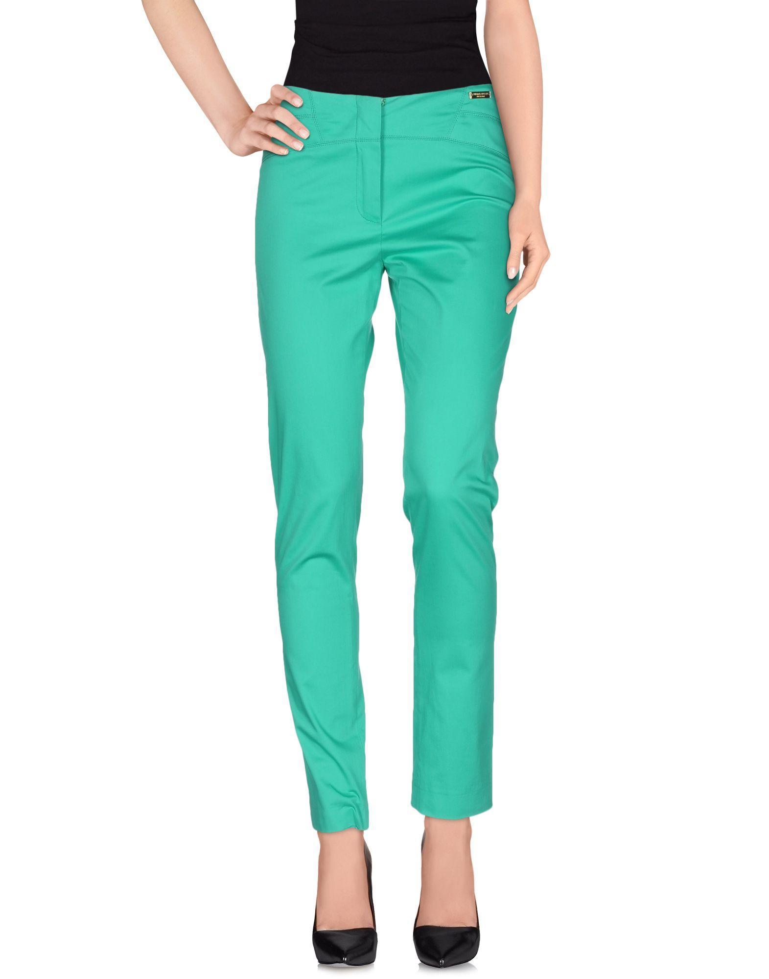 Chiara D'Este Casual Trouser in Green