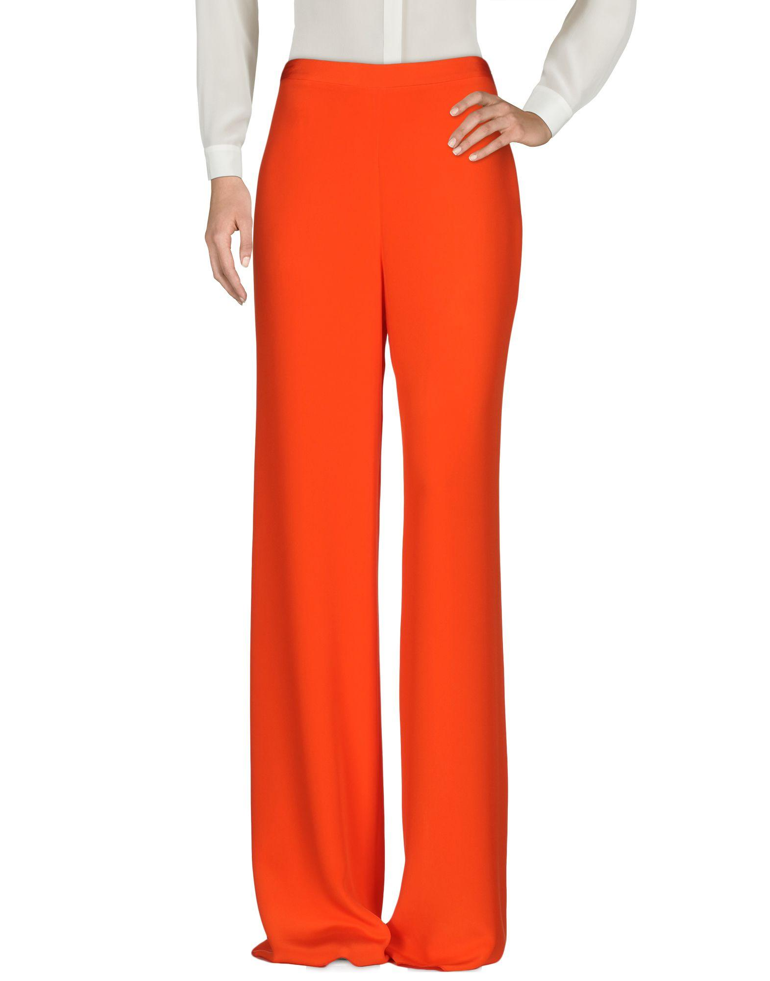 Amazing Just Cavalli Casual Pants In Orange  Lyst