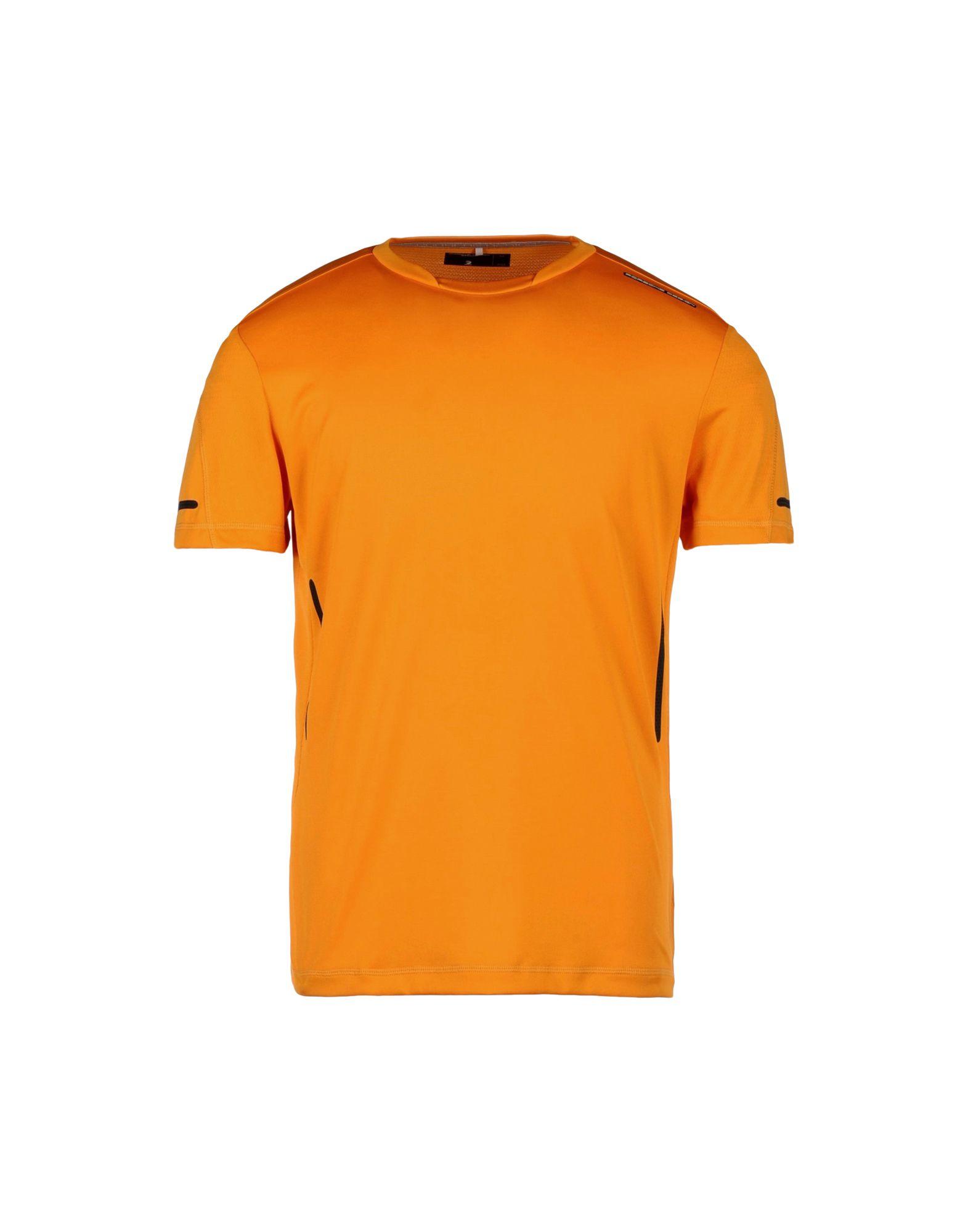 porsche design t shirt in orange for men lyst. Black Bedroom Furniture Sets. Home Design Ideas