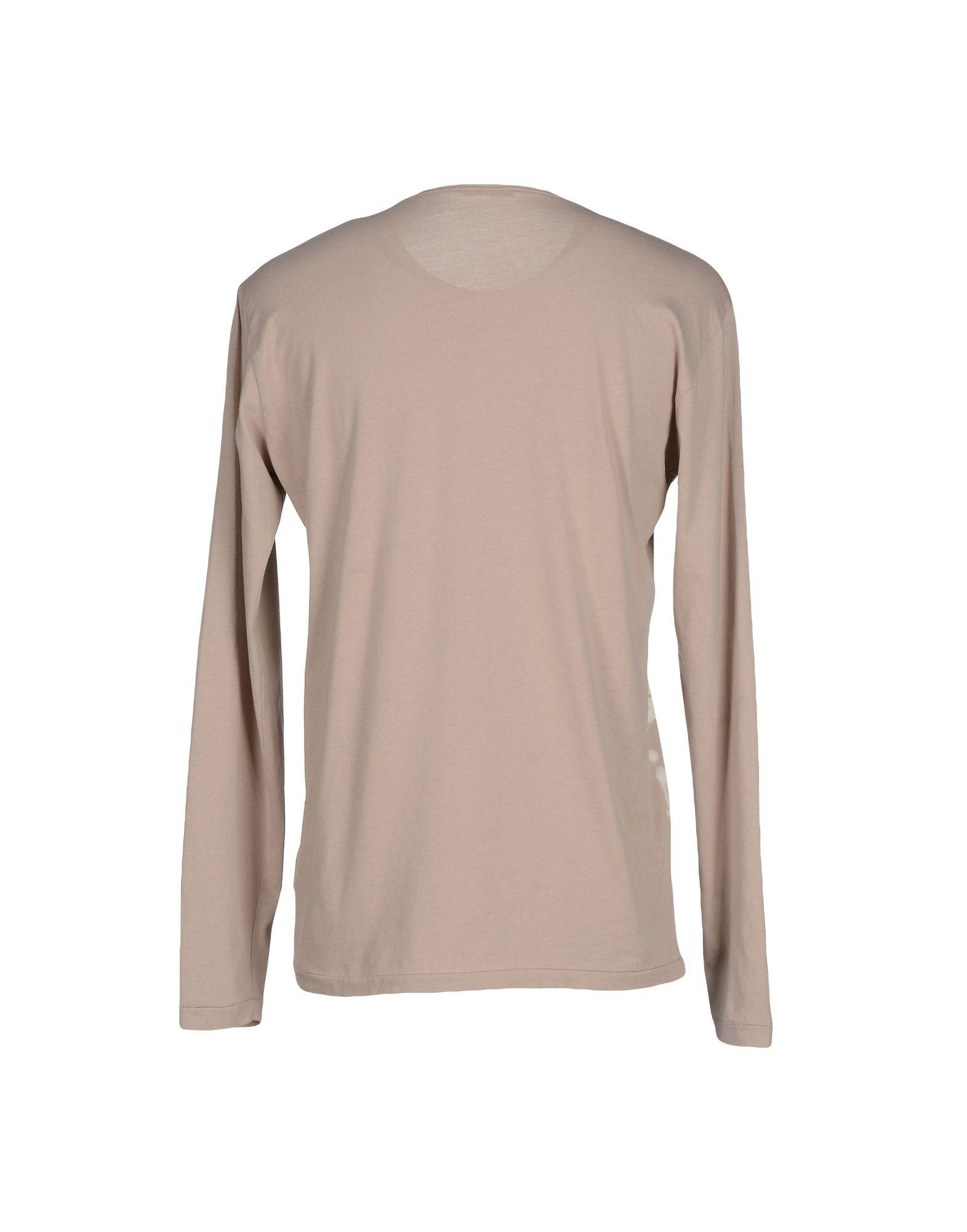 Lyst bottega veneta t shirt in natural for Bottega veneta t shirt