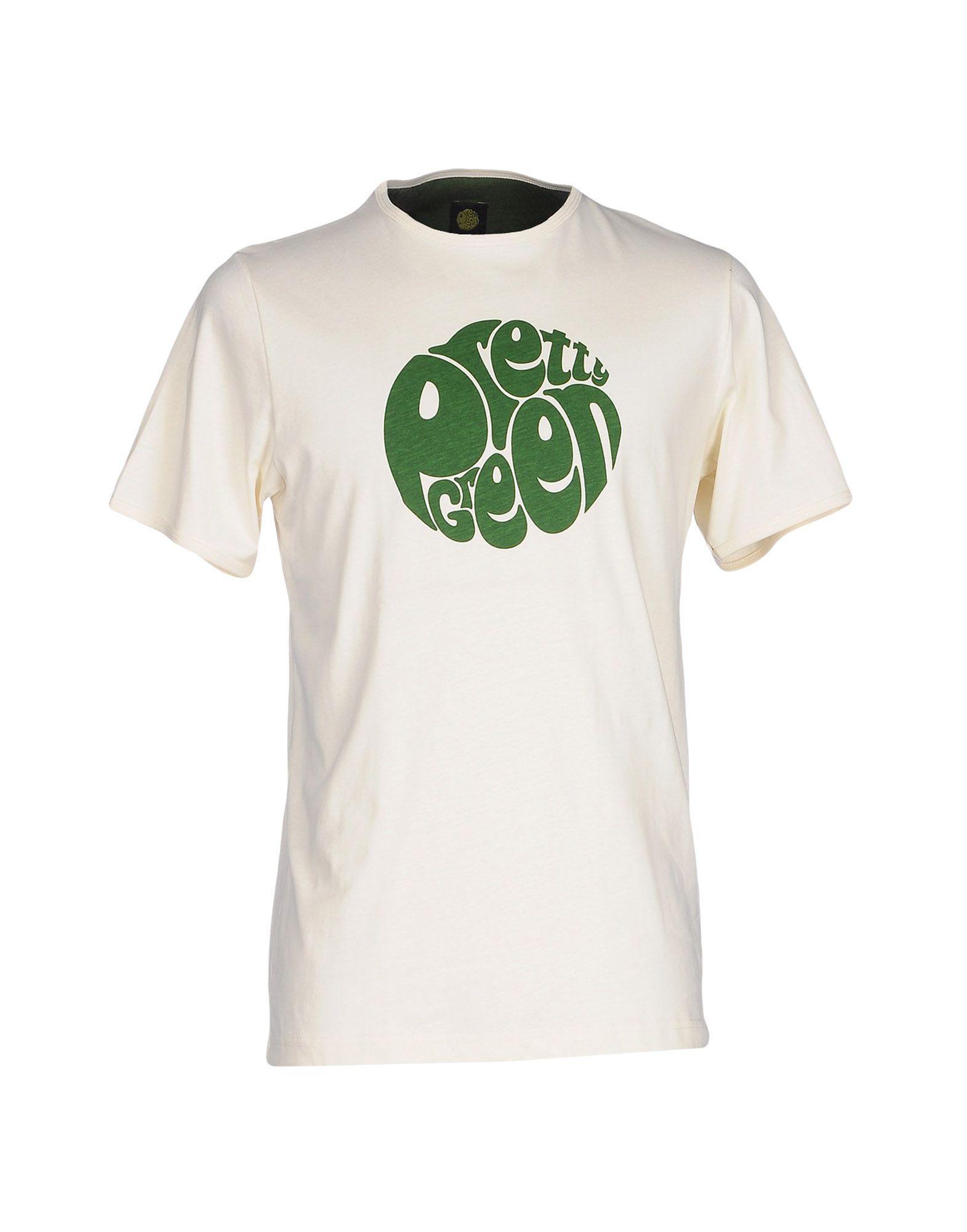 Lyst Pretty Green T Shirt In White For Men