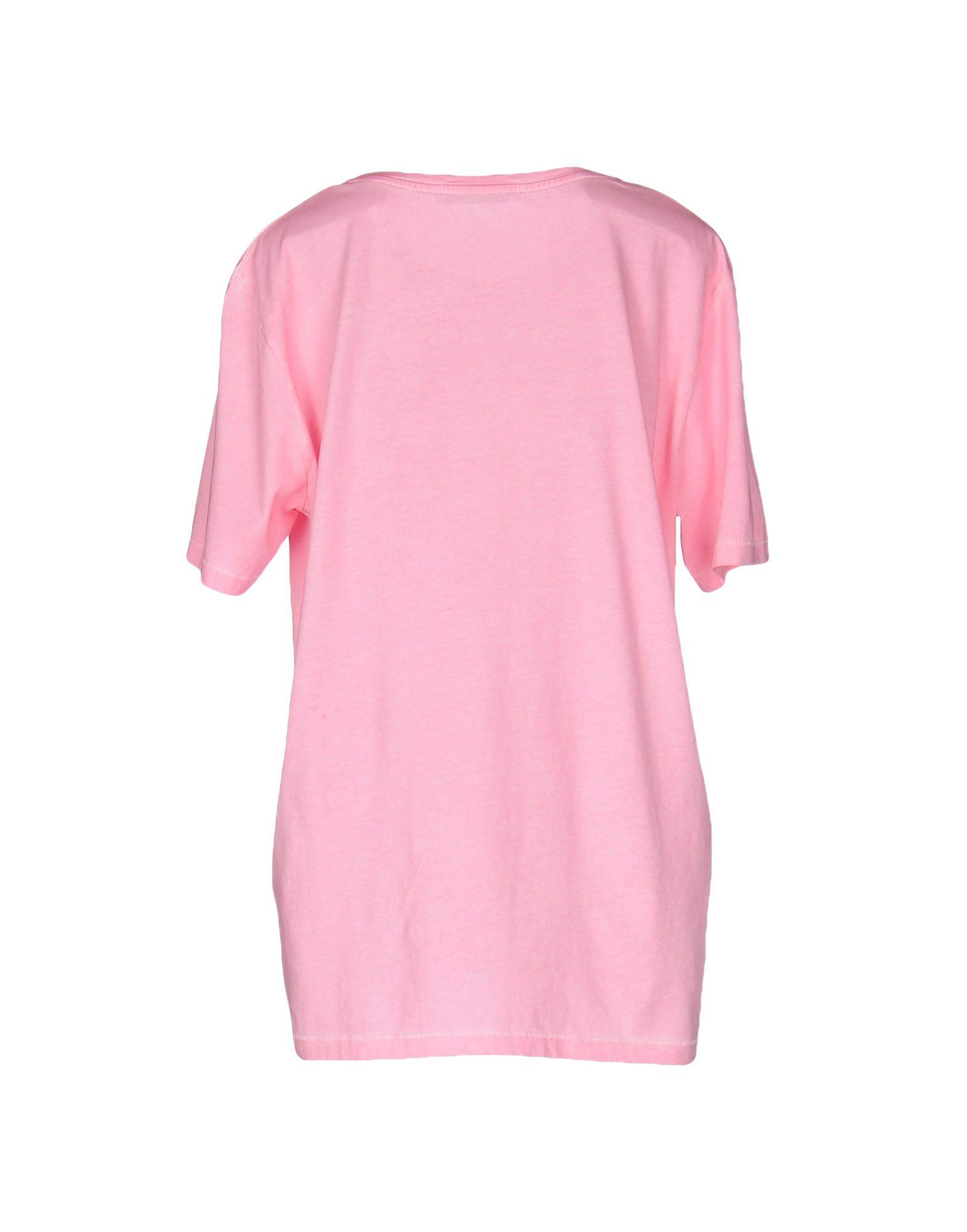 Acne Studios T Shirt In Pink Lyst