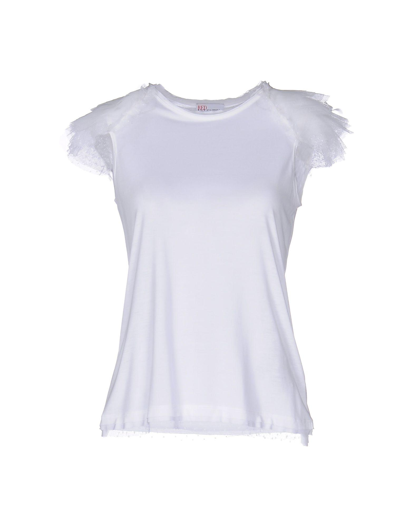 Lyst red valentino t shirt in white for Red valentino t shirt