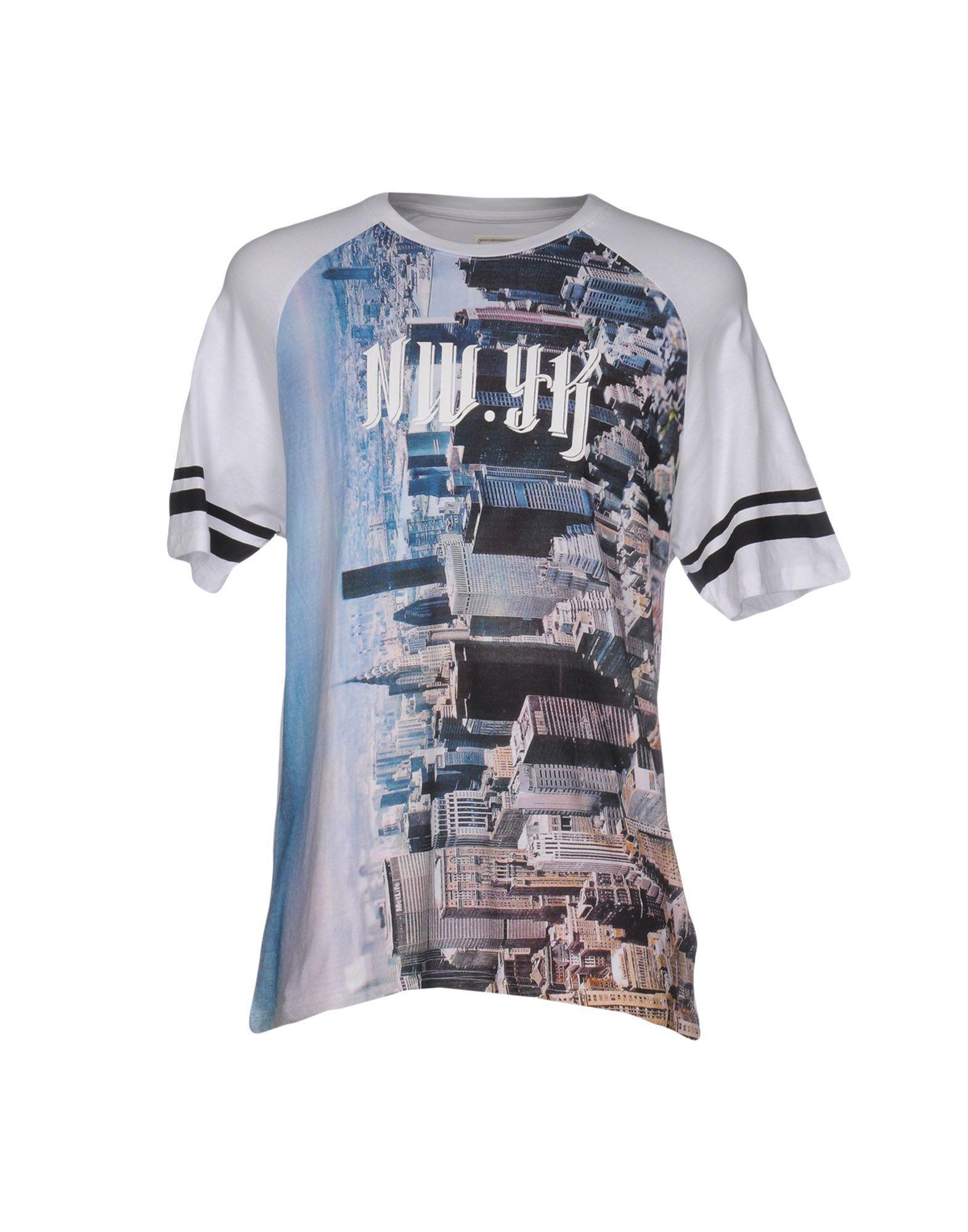 lyst eleven paris t shirt in white for men. Black Bedroom Furniture Sets. Home Design Ideas