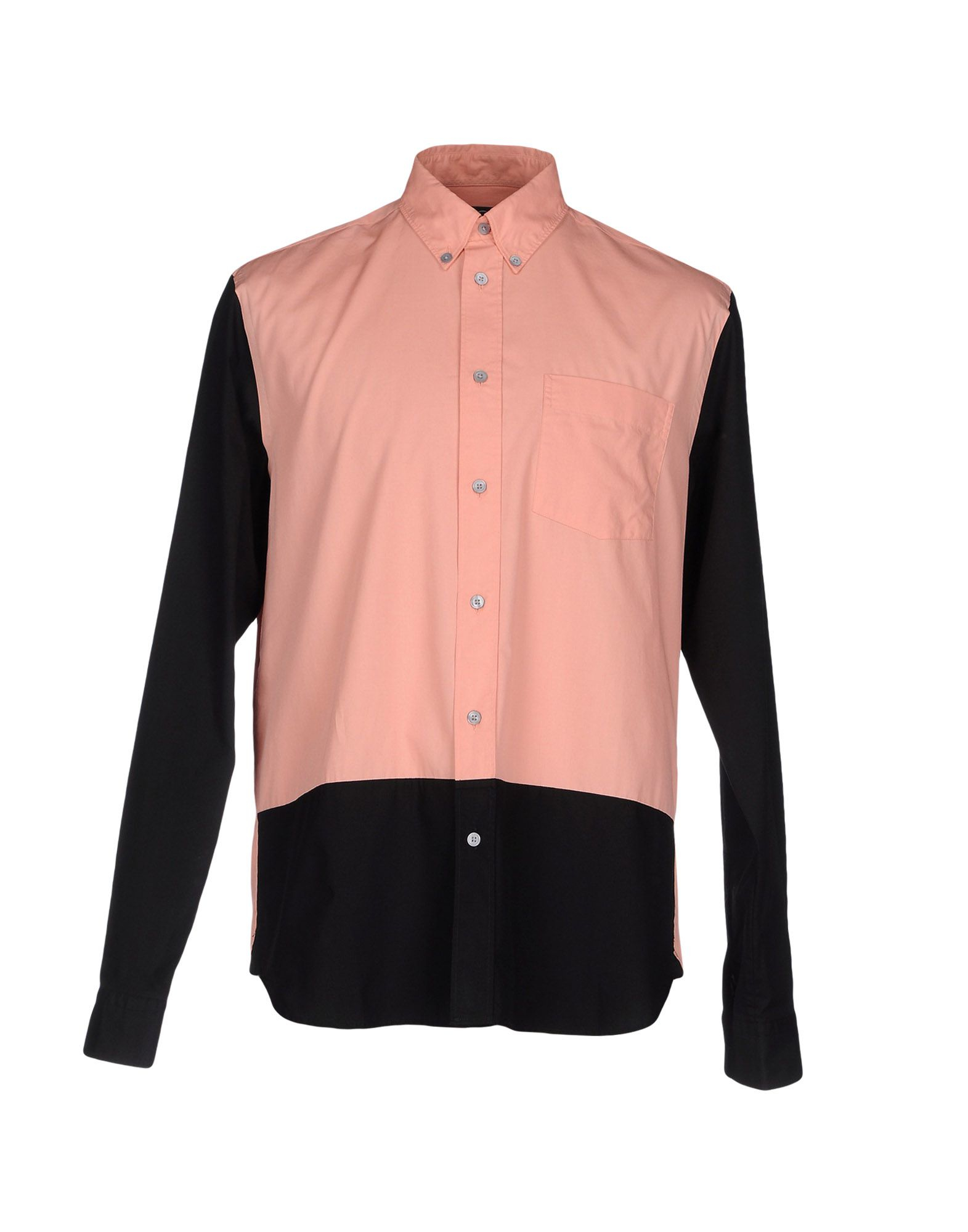 Mcq alexander mcqueen shirt in multicolor for men pastel for Pastel colored men s t shirts