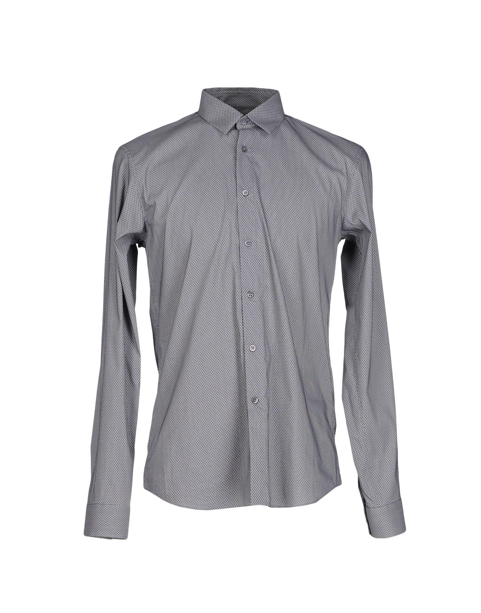 Lyst jil sander shirt in black for men for Jil sander mens shirt