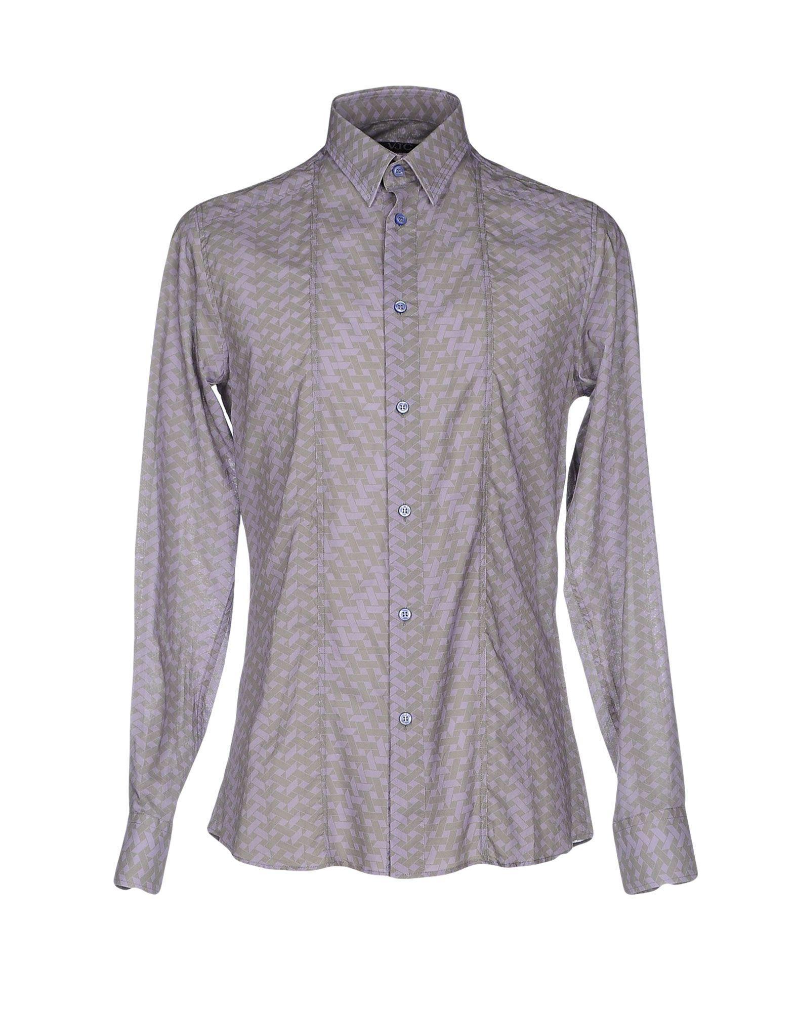 versace jeans shirt for men lyst. Black Bedroom Furniture Sets. Home Design Ideas