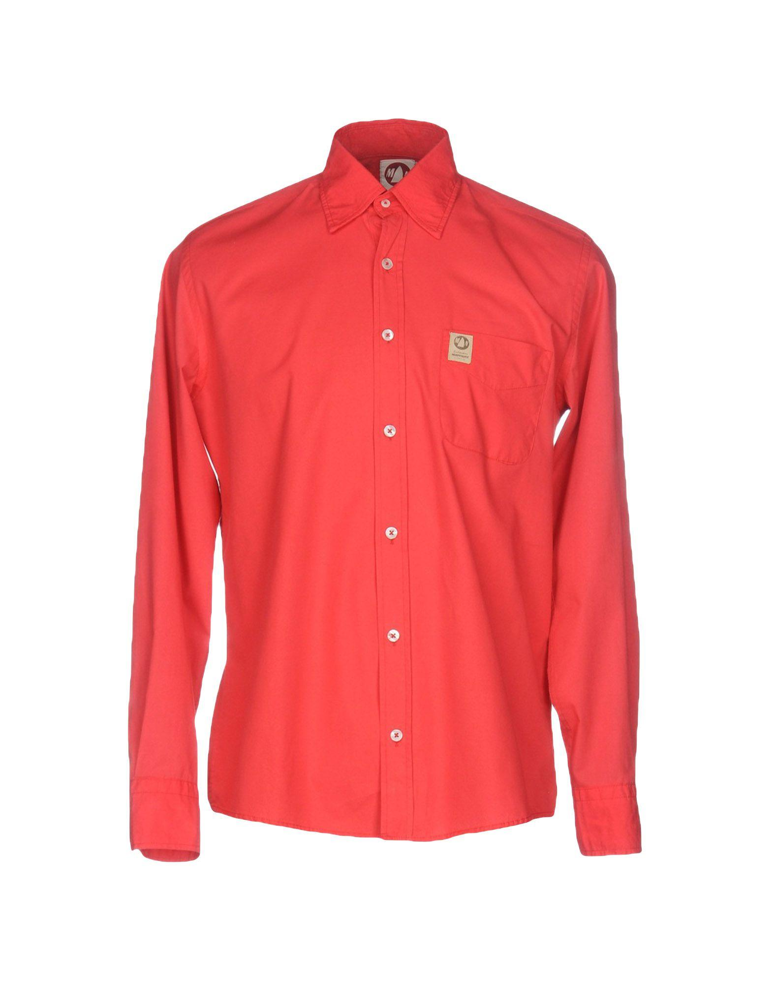 murphy nye shirt in red for men lyst. Black Bedroom Furniture Sets. Home Design Ideas