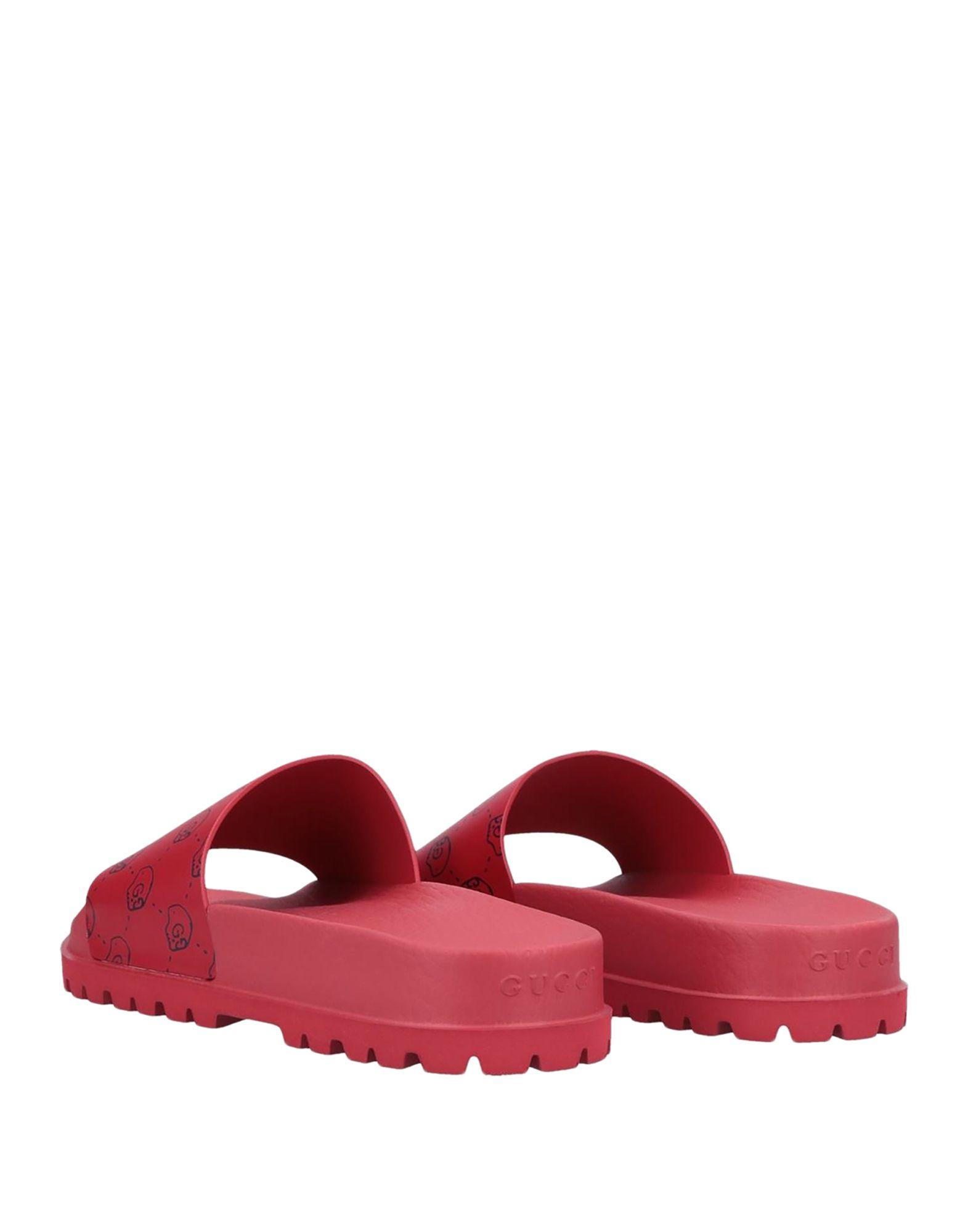 23b72d572e9ed6 Gucci - Red Sandals for Men - Lyst. View fullscreen