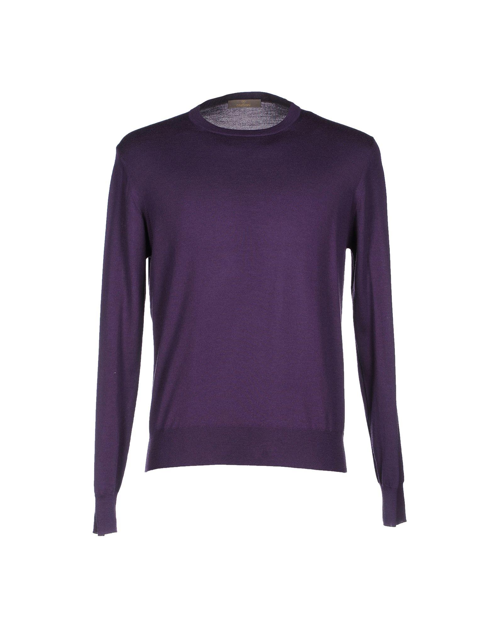 Purple Sweater For Men 118