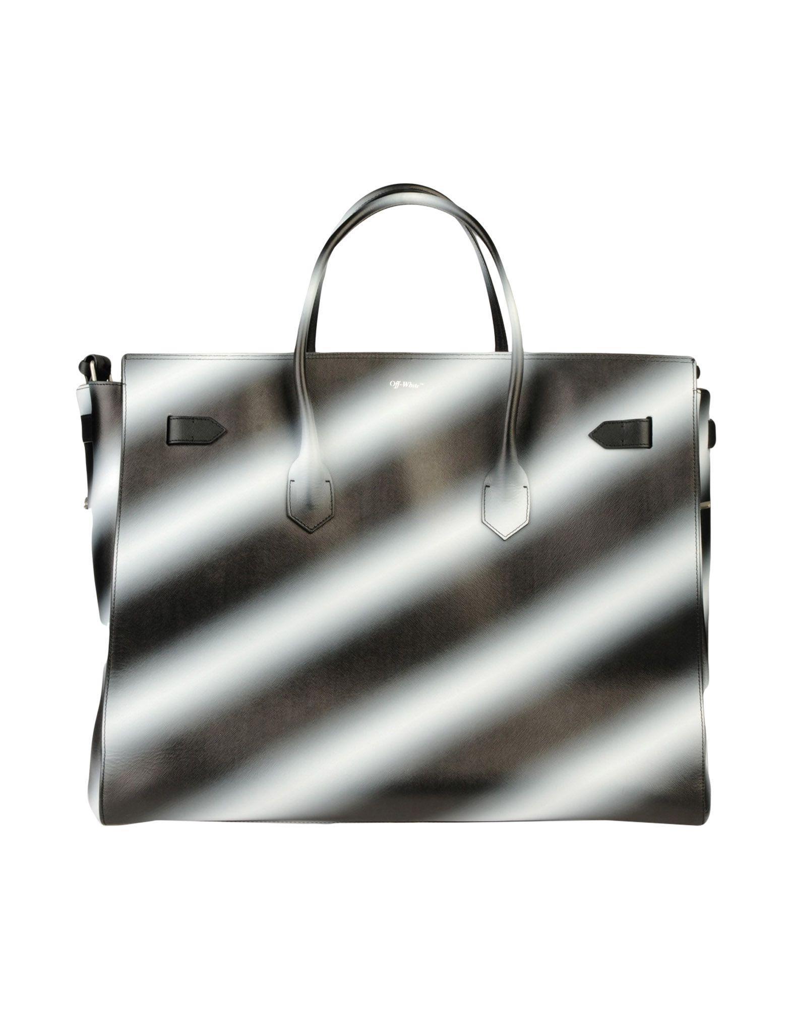 2d970c8b2895 Lyst - Off-White c o Virgil Abloh Travel   Duffel Bag in Gray