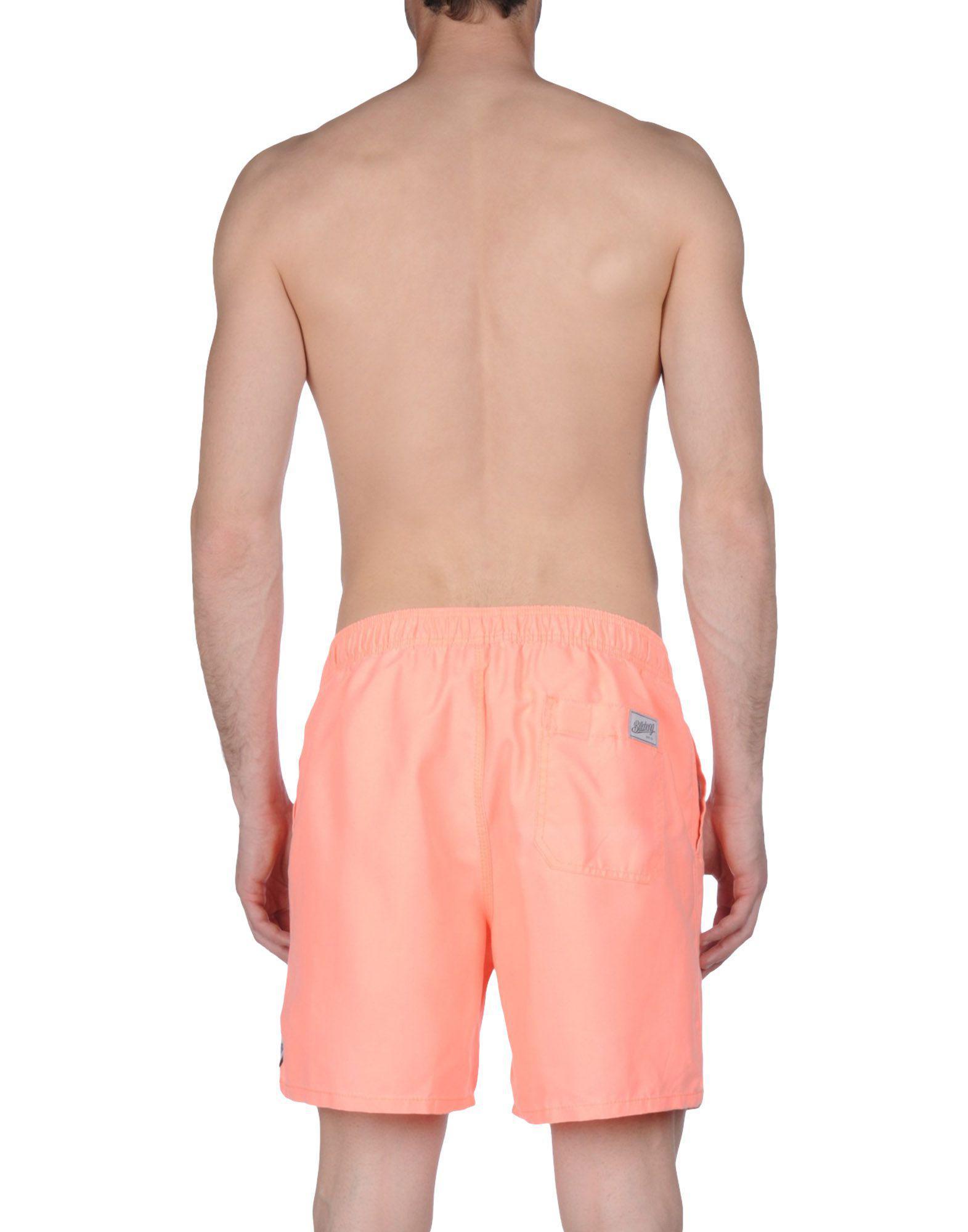 ef429c0fa5 Lyst - Billabong Swim Trunks in Orange for Men
