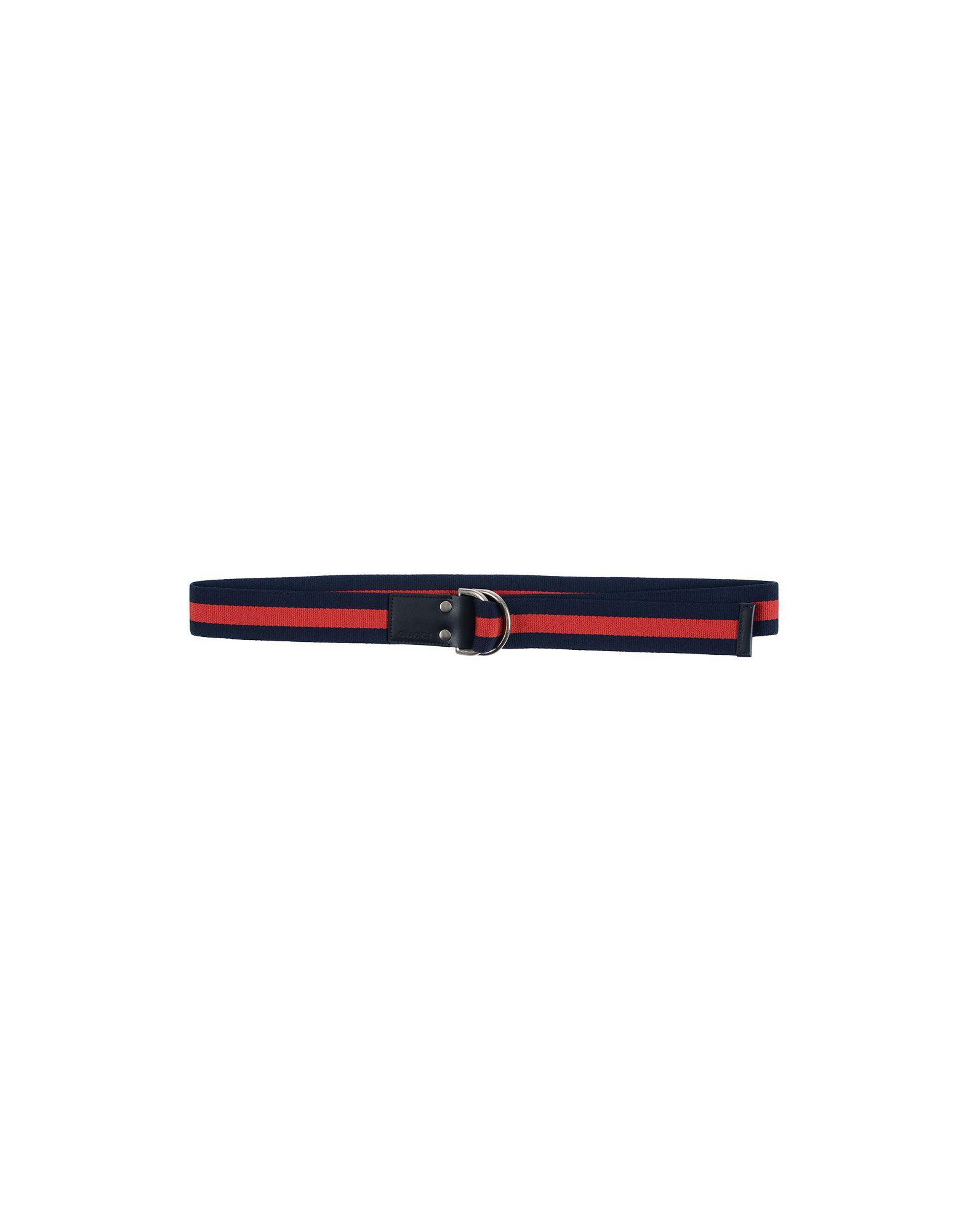 Lyst - Cinturón Gucci de hombre de color Azul 2ebd4d59880
