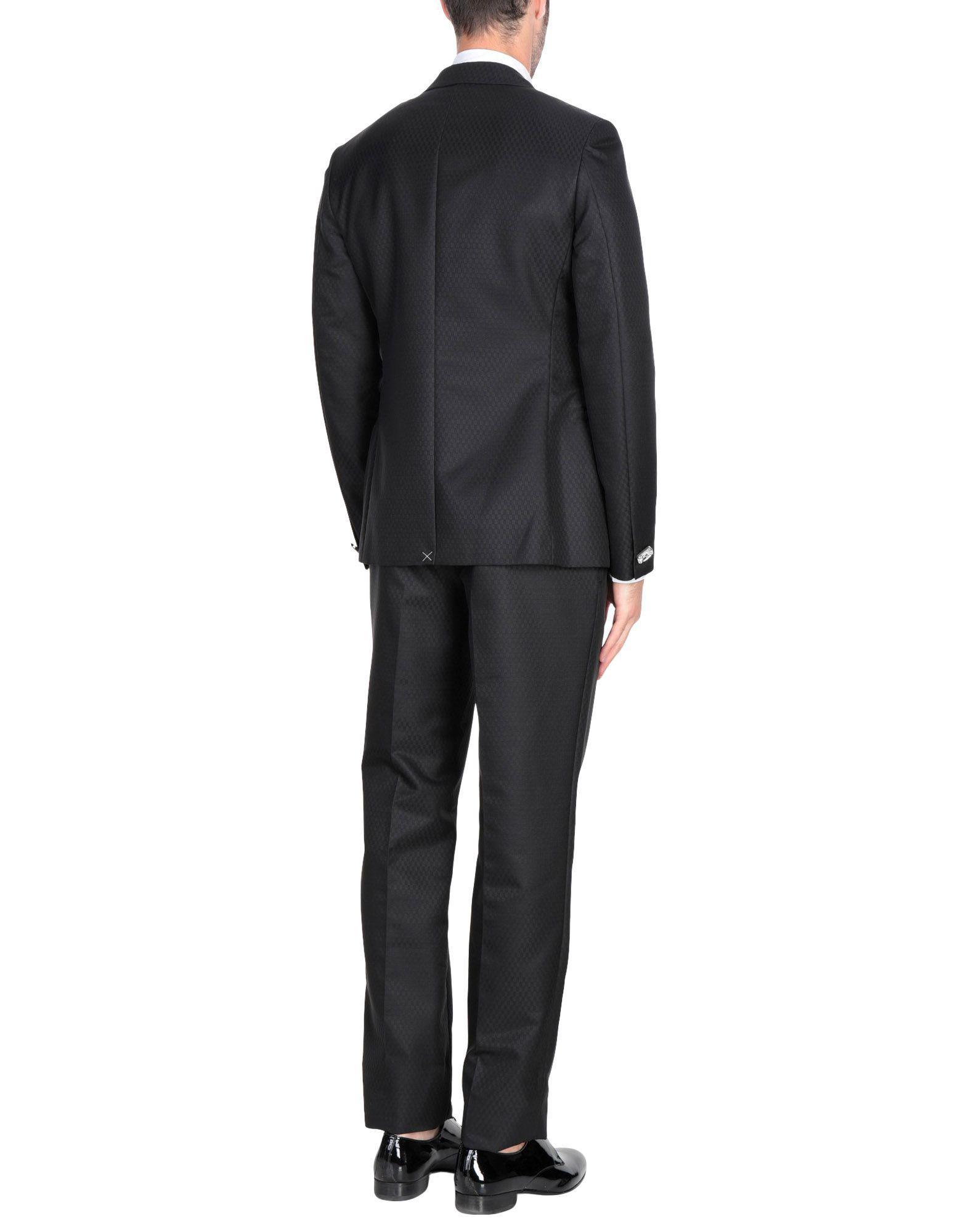 Lyst - Costume Versace pour homme en coloris Noir a5bae9f8f57