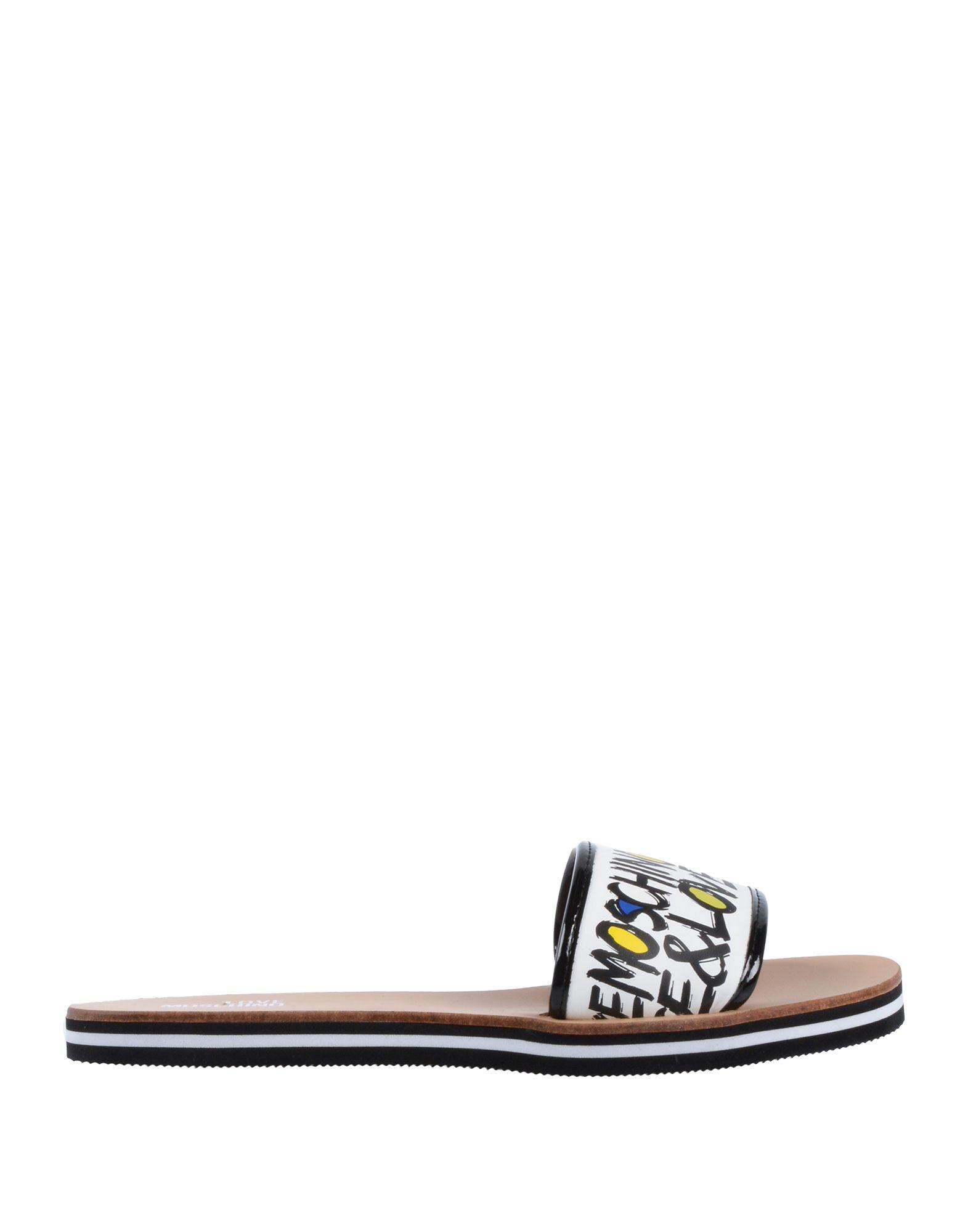 5f29e80af635 Lyst - Love Moschino Sandals in White