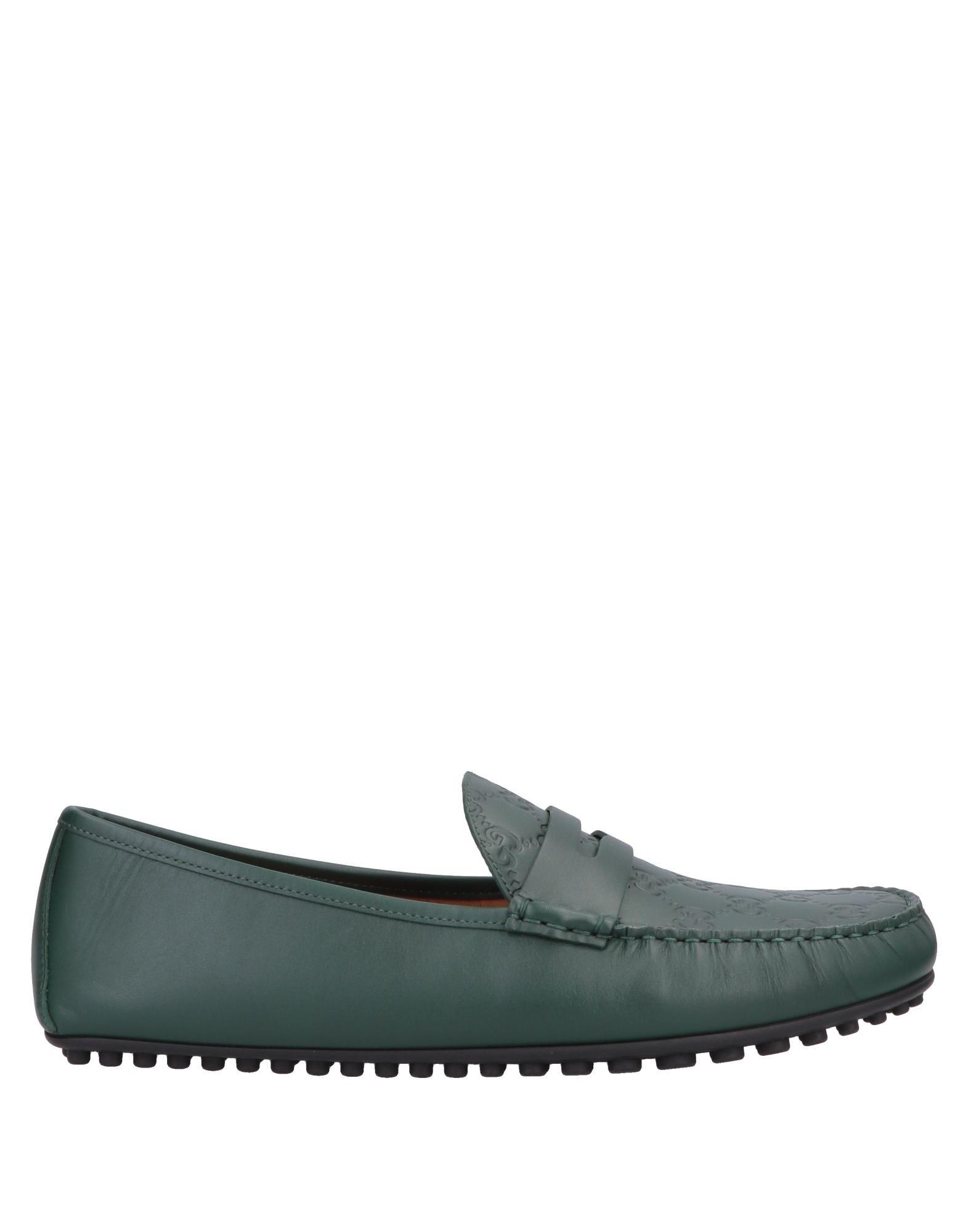 8fb52037e10 Lyst - Gucci Loafer in Green for Men