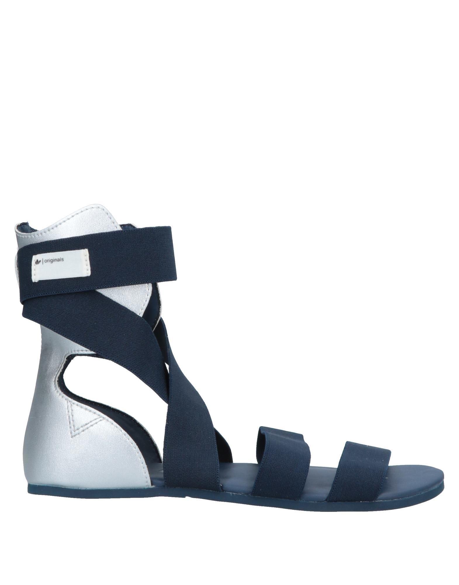 46eafe03f54c0e Adidas Originals - Blue Sandals - Lyst. View fullscreen