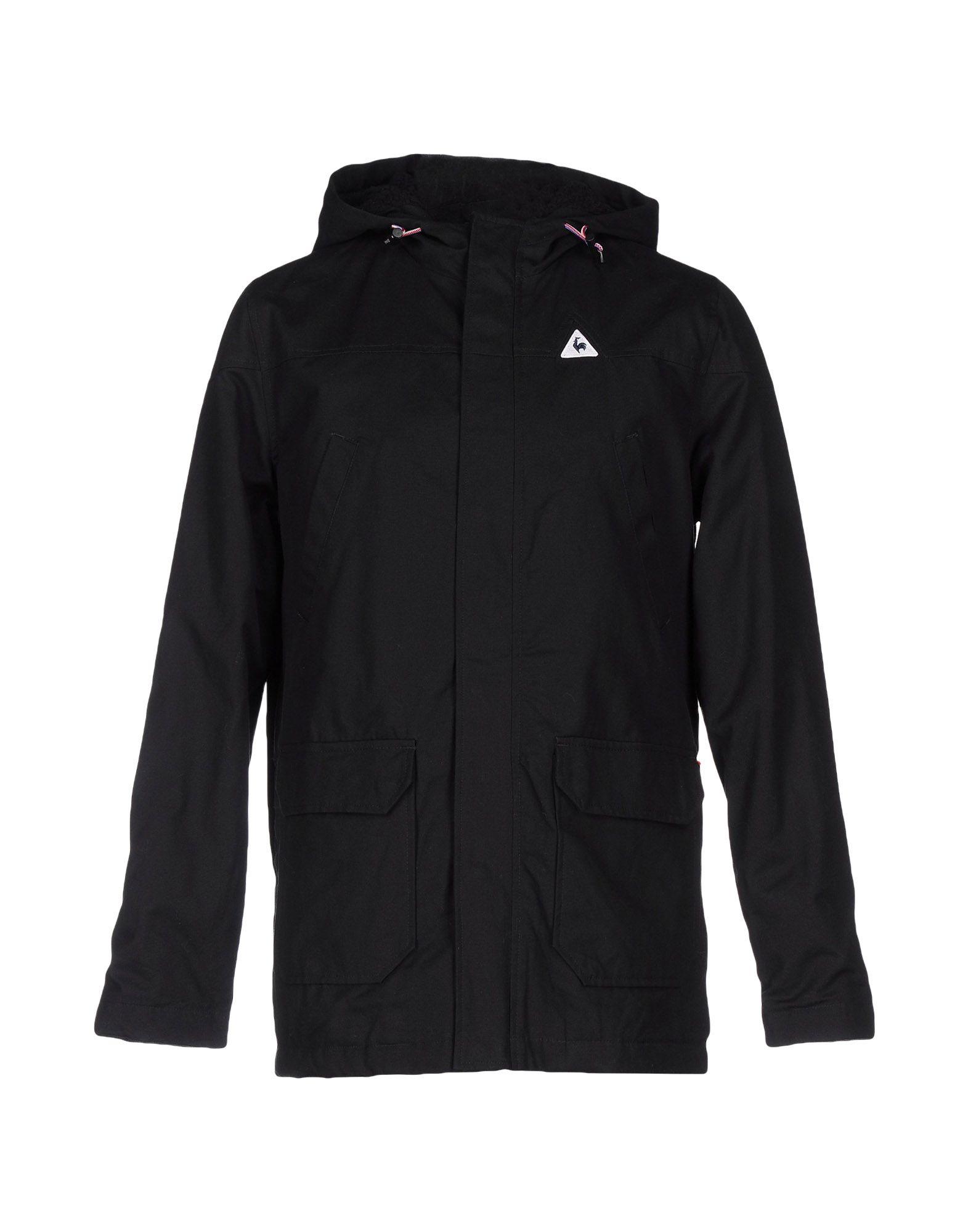 le coq sportif jacket in black for men lyst. Black Bedroom Furniture Sets. Home Design Ideas