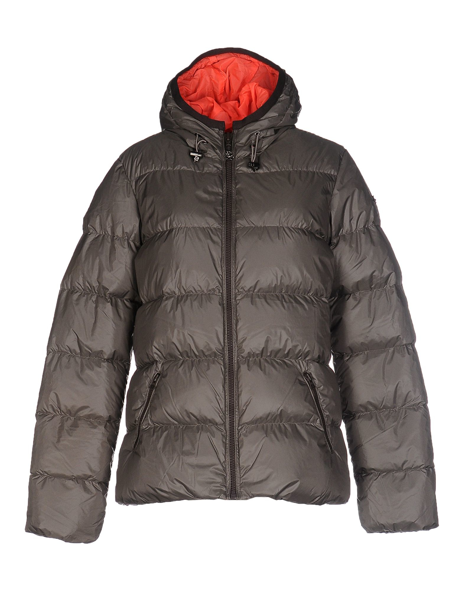 maison scotch down jacket in gray grey lyst. Black Bedroom Furniture Sets. Home Design Ideas