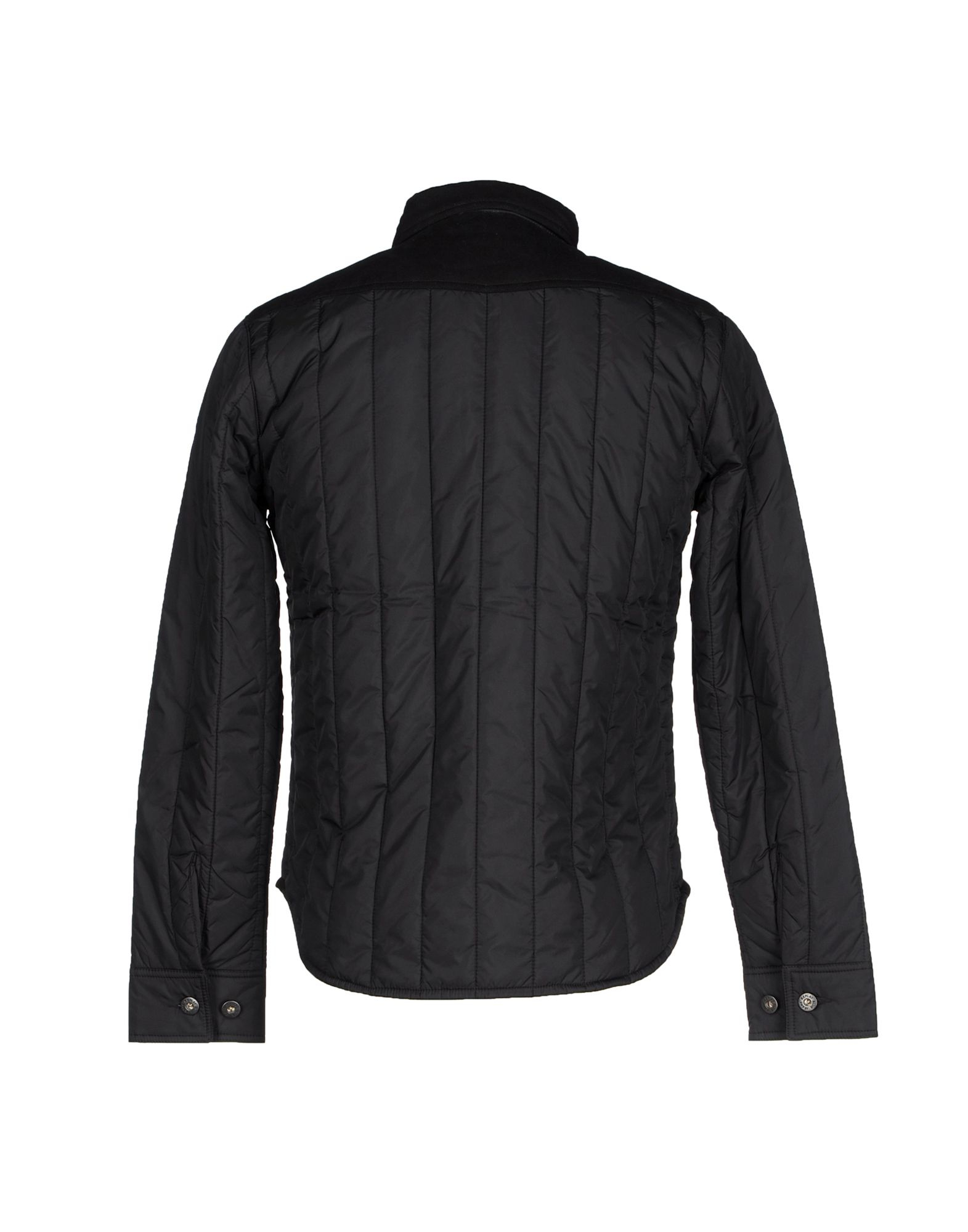 replay jacket in black for men lyst