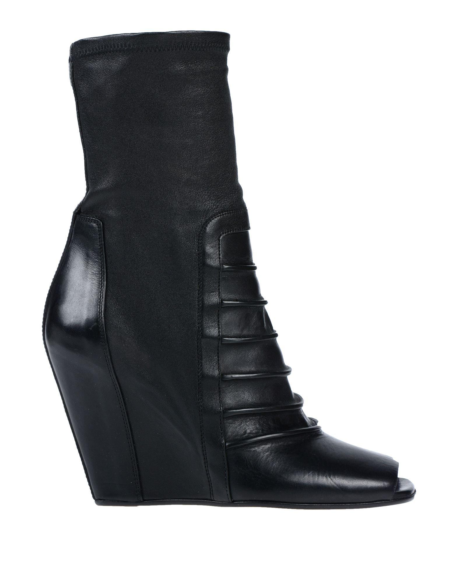 a2aba8ff204b Lyst - Rick Owens Ankle Boots in Black